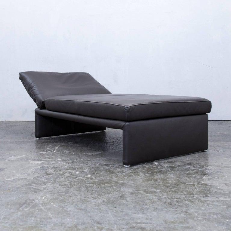 koinor designer chaiselongue leather mocca brown recamiere. Black Bedroom Furniture Sets. Home Design Ideas