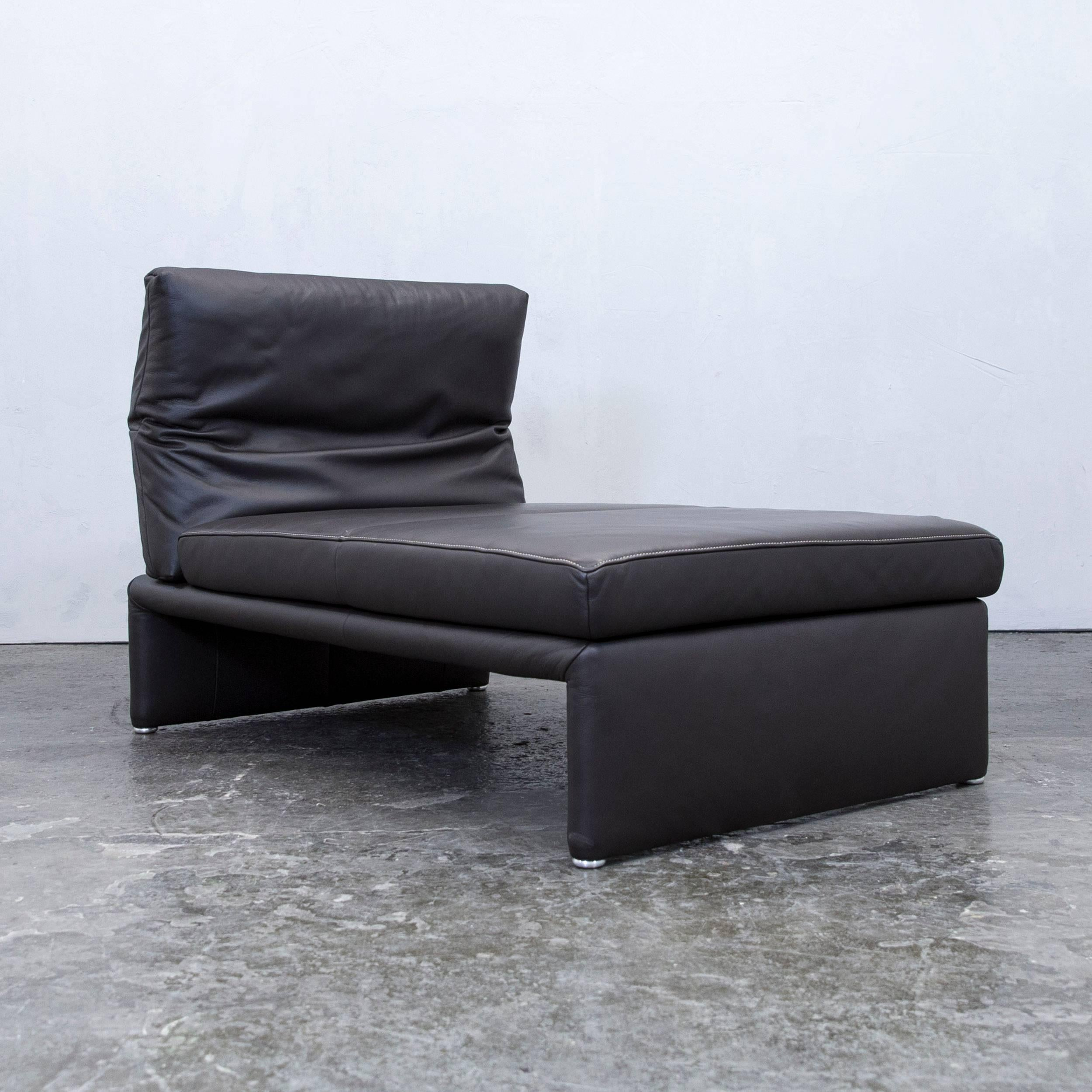 Recamiere Modern koinor designer chaiselongue leather mocca brown recamiere function