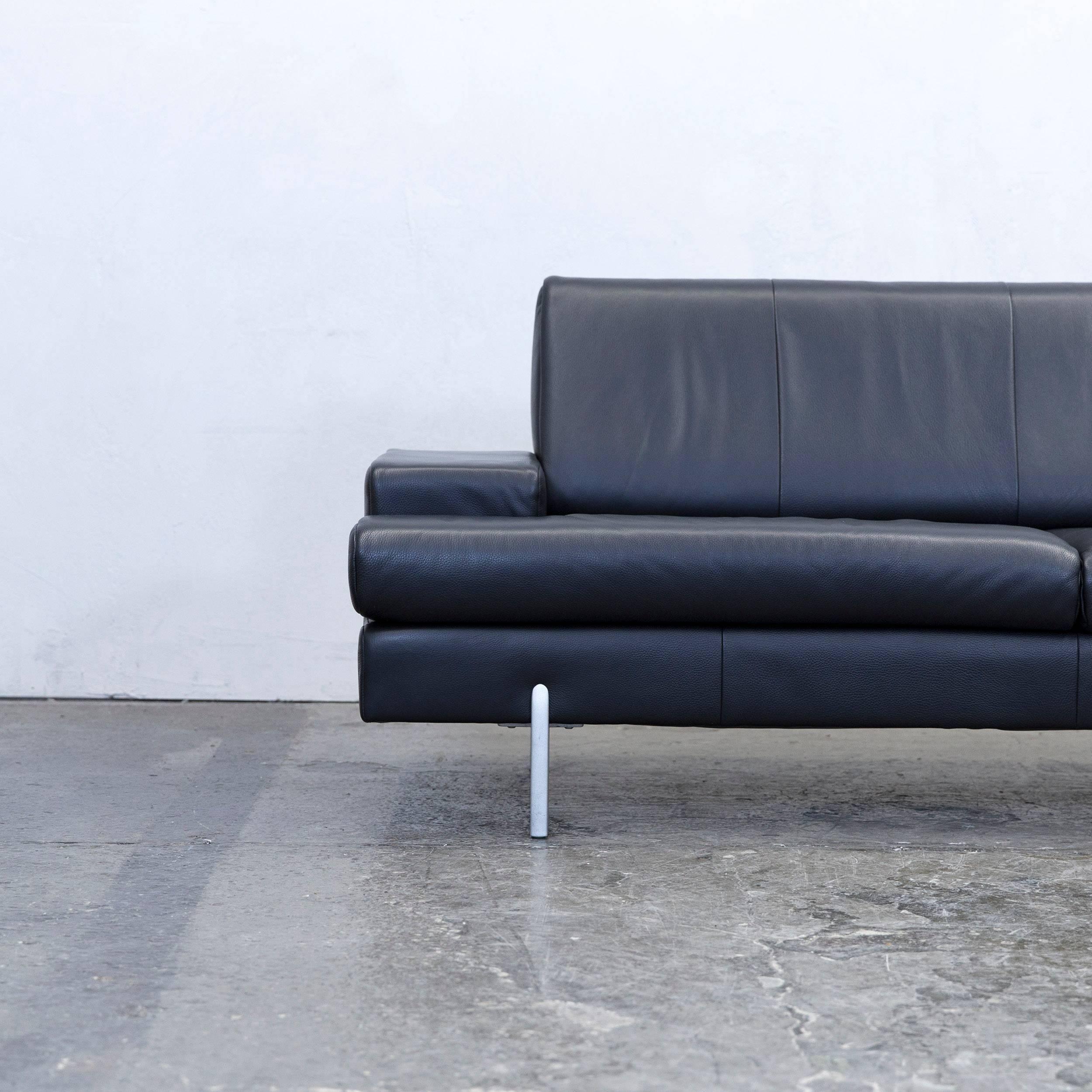 schlafsofa aus leder fabulous schlafsofa leder schwarz. Black Bedroom Furniture Sets. Home Design Ideas