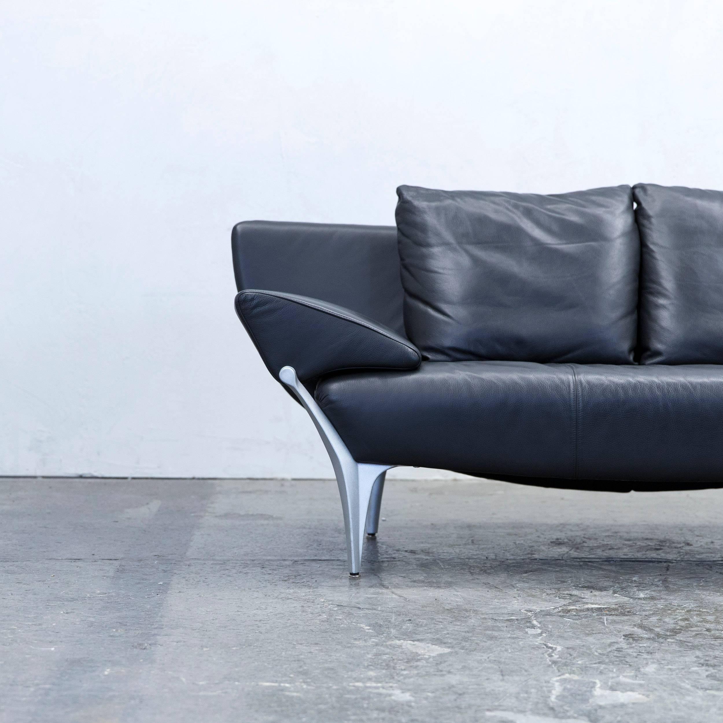 Sofa leder schwarz rolf benz sofa gebraucht kaufen bei for Rolf benz sofa gebraucht
