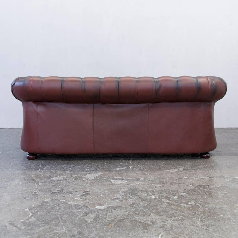 original chesterfield sofas antique leather chesterfield sofa in original leather for sale at. Black Bedroom Furniture Sets. Home Design Ideas