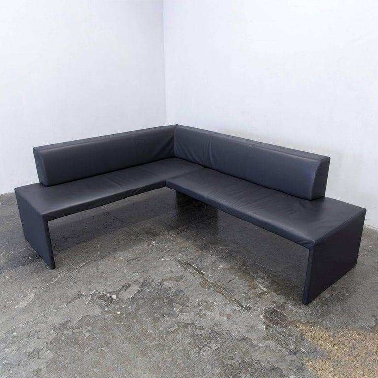 Inspirationen Fliesen Steinoptik Porcelanosa Boden Grau Sofa Wohnzimmer 2018: Walter Knoll Together Designer Corner Sofa Leather Grey