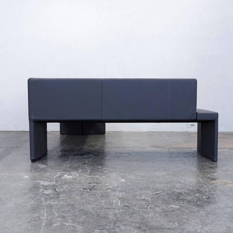Walter Knoll Together Designer Corner Sofa Leather Grey Anthrazit Modern For Sale At 1stdibs