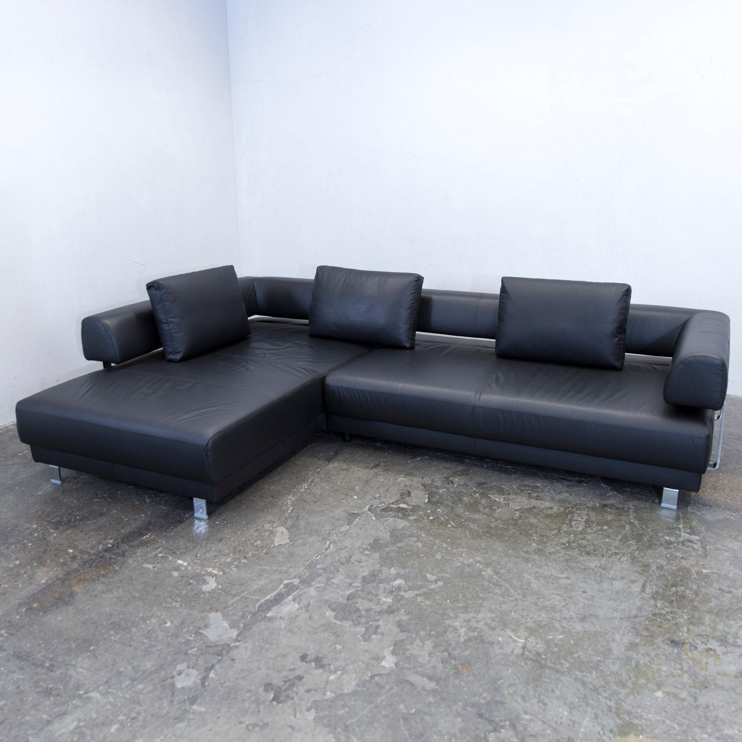Einzigartig Ewald Schillig Ecksofa Ideen Von Brand Face Designer Corner Sofa Leather Black