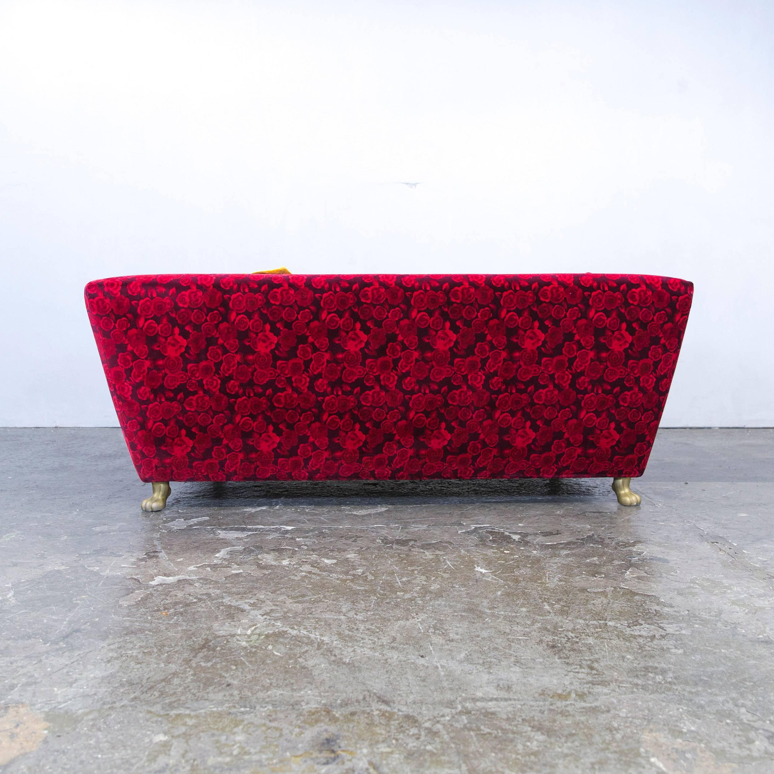 Bretz Sofa bretz designer sofa fabric three seat floral
