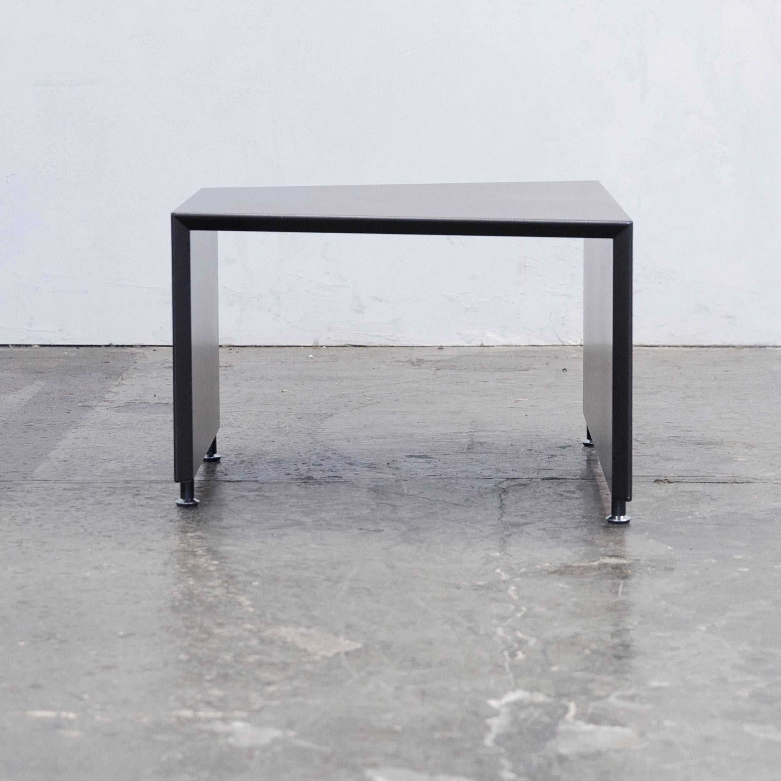 Wooden Black Colored Coffee Table Designed By Terreno In A Minimalistic  Design.