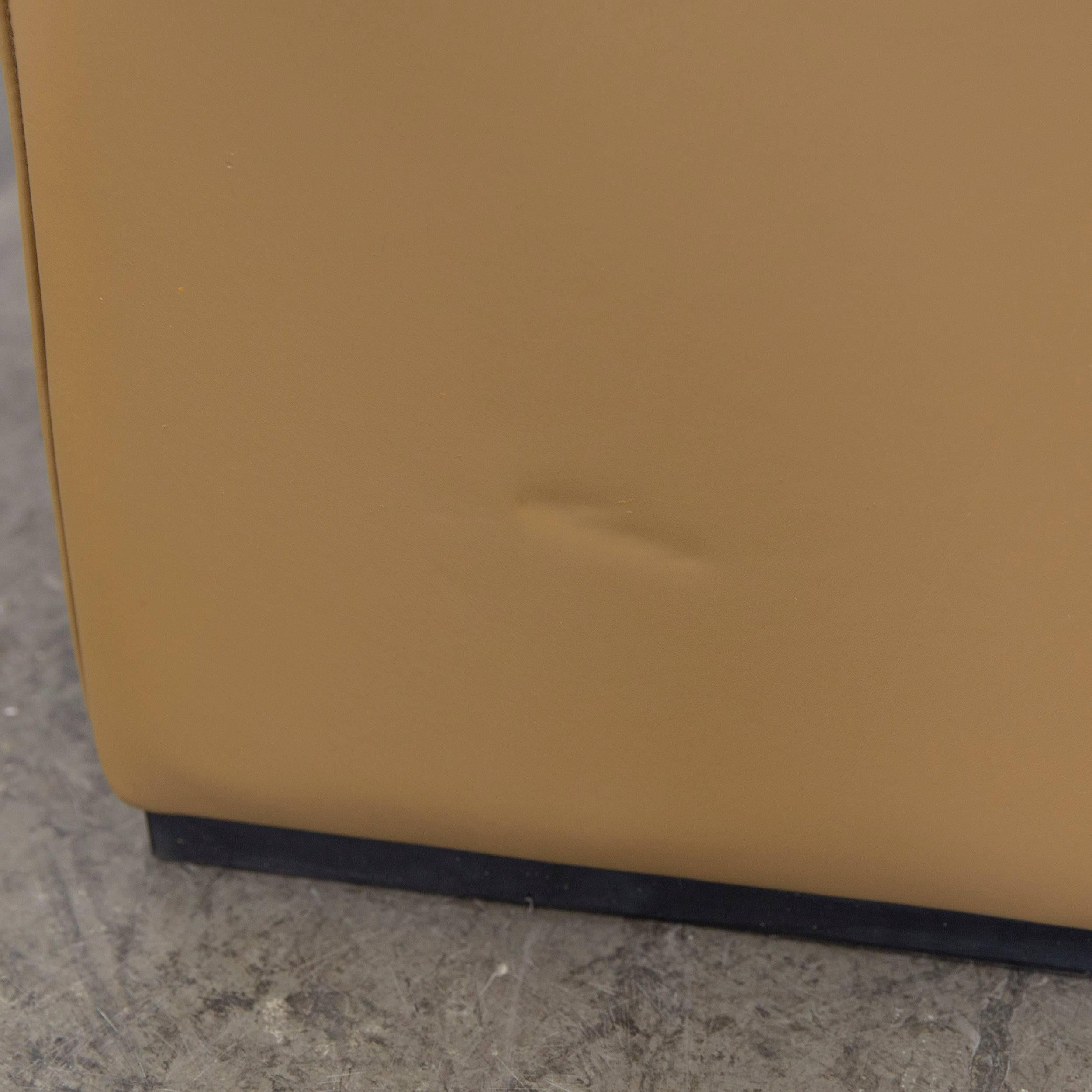 De Sede DS 50 Leather Relax Chair Ochre Modern For Sale 1