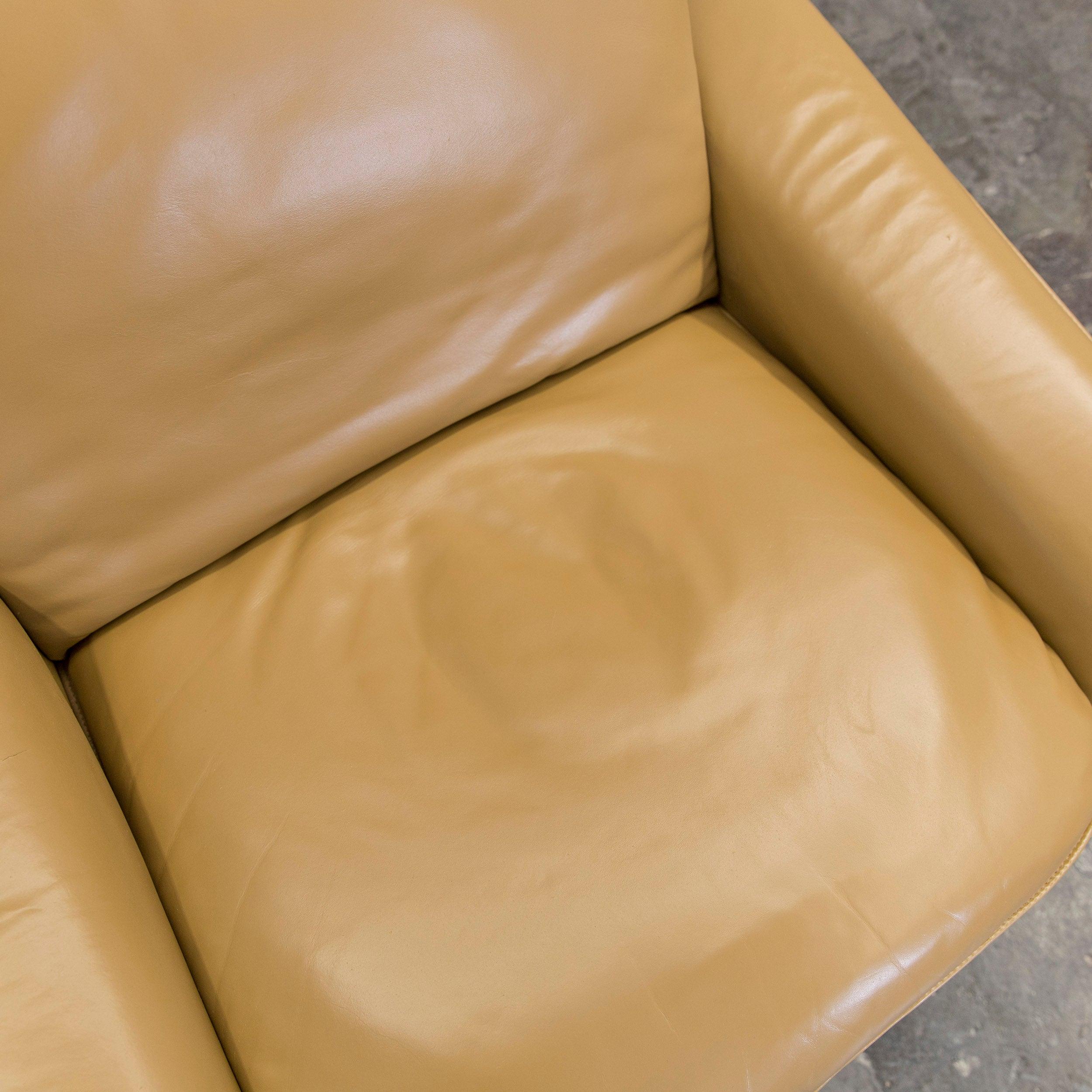 De Sede DS 50 Leather Relax Chair Ochre Modern At 1stdibs