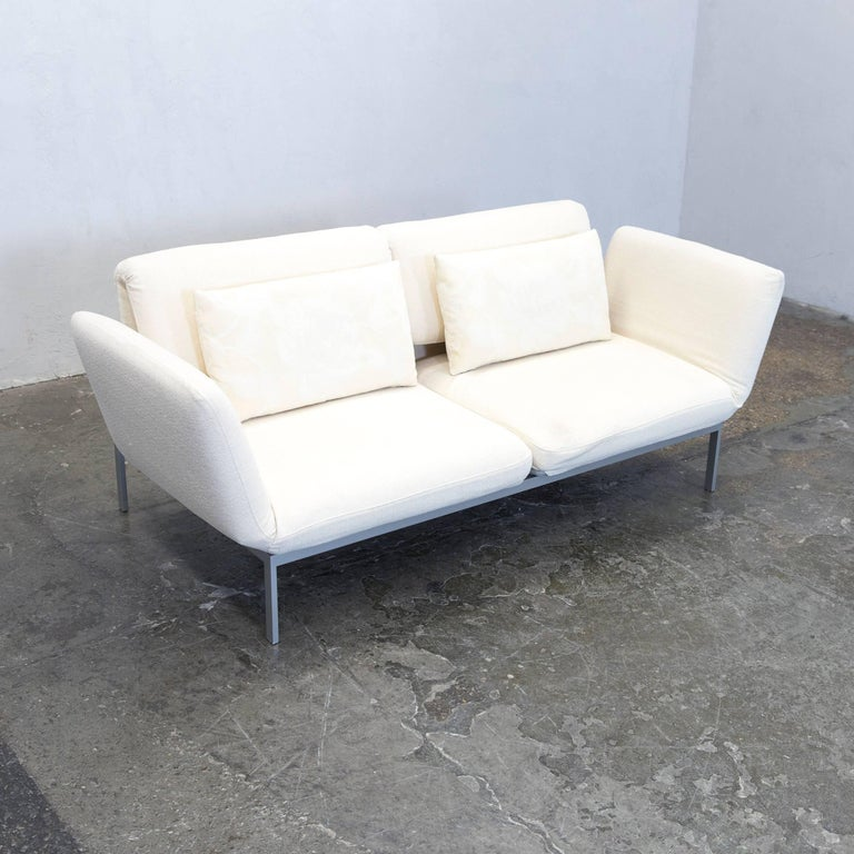 br hl and sippold moule designer sofa fabric beige function couch modern for sale at 1stdibs
