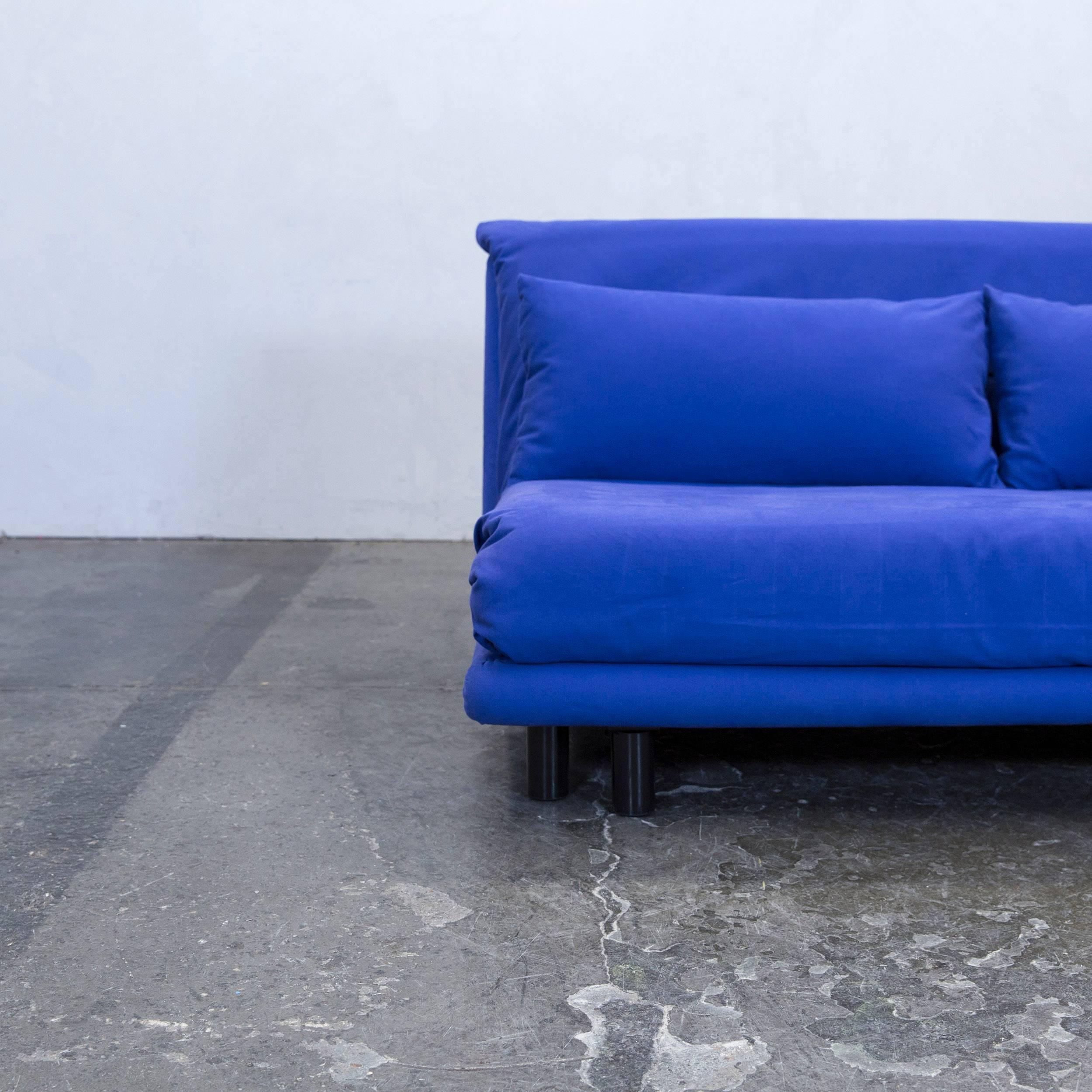 Design Schlafsofa Ligne Roset ligne roset multi designer sofa fabric blue two seat sofa