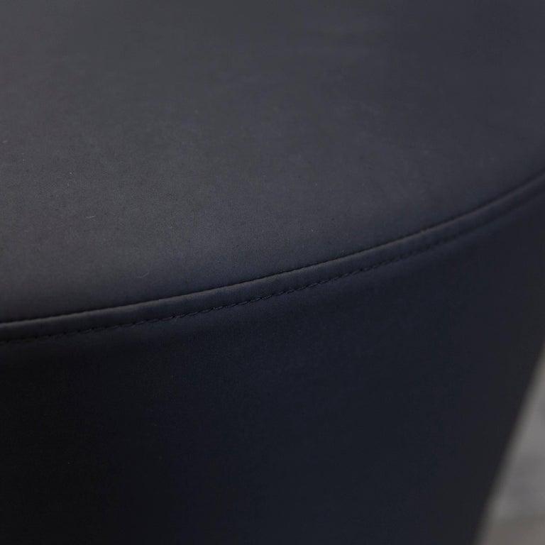 br hl und sippold big arm fabric chair black modern for sale at 1stdibs. Black Bedroom Furniture Sets. Home Design Ideas