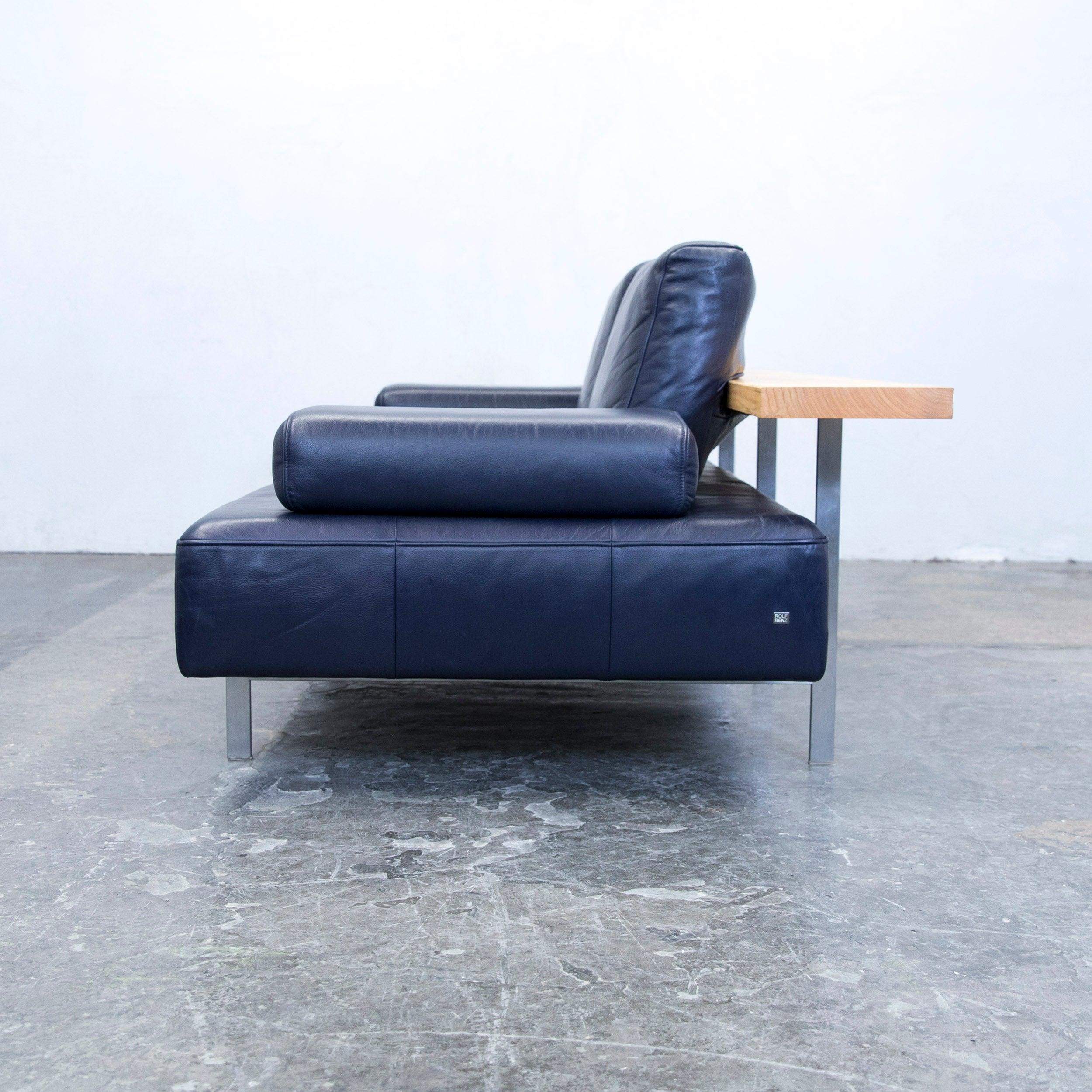 Erstaunlich Benz Couch Sammlung Von Rolf Dono Designer Sofa Aubergine Leather Three-seat