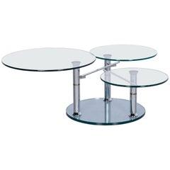 Draenert Intermezzo 1332 Designer Coffee Table Glass Series, Metamorphosen