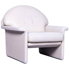 De Sede Leather Armchair Off-White One-Seat Chair