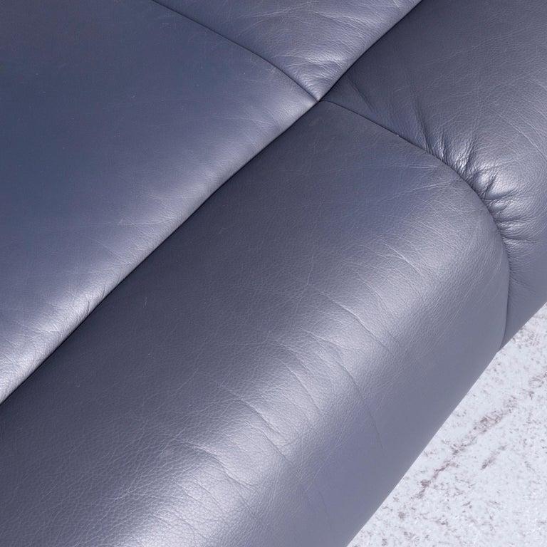 De Sede DS 18 Designer Leather Corner Couch Sofa For Sale 1