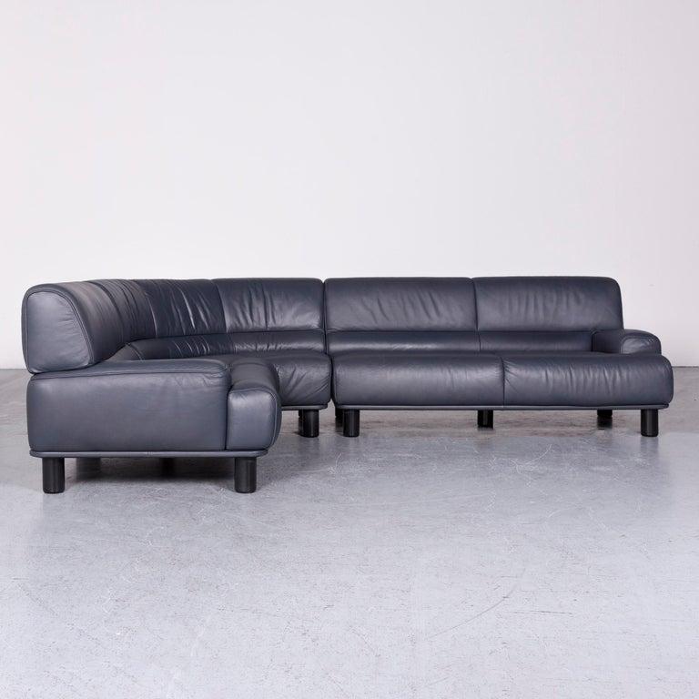De Sede DS 18 Designer Leather Corner Couch Sofa For Sale 2