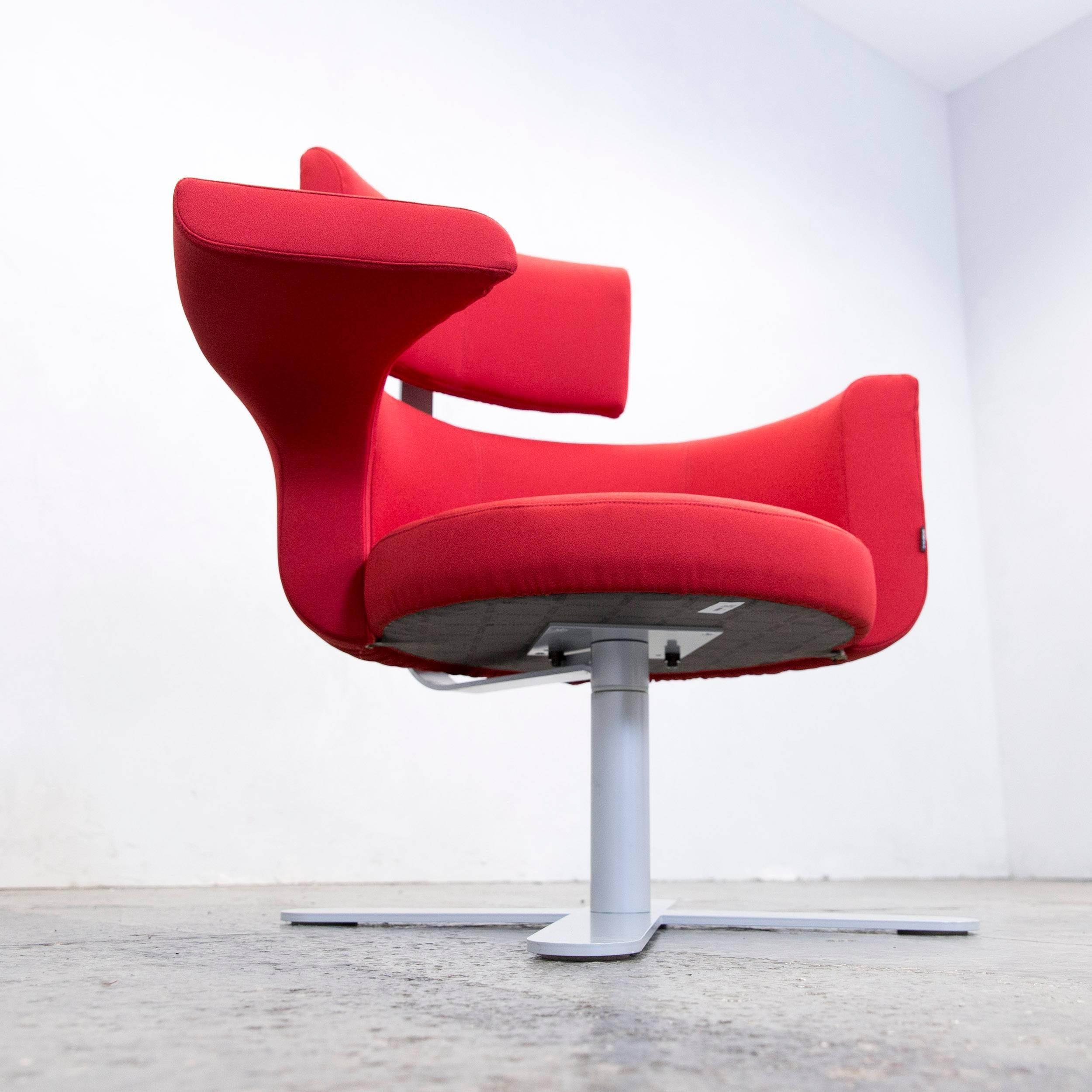 Vanity Sessel Modern Design Ideas Of Drabert Hotspot Designer Armchair Red Fabric Function