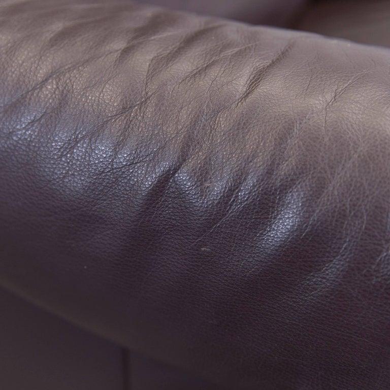 willi schillig designer recliner armchair brown leather minimalistic at 1stdibs. Black Bedroom Furniture Sets. Home Design Ideas