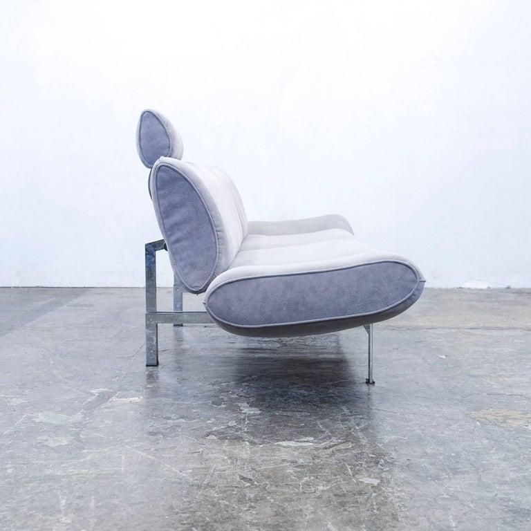 Zweisitzer Sofa Grau ~ De sede ds designer sofa fabric grey function couch
