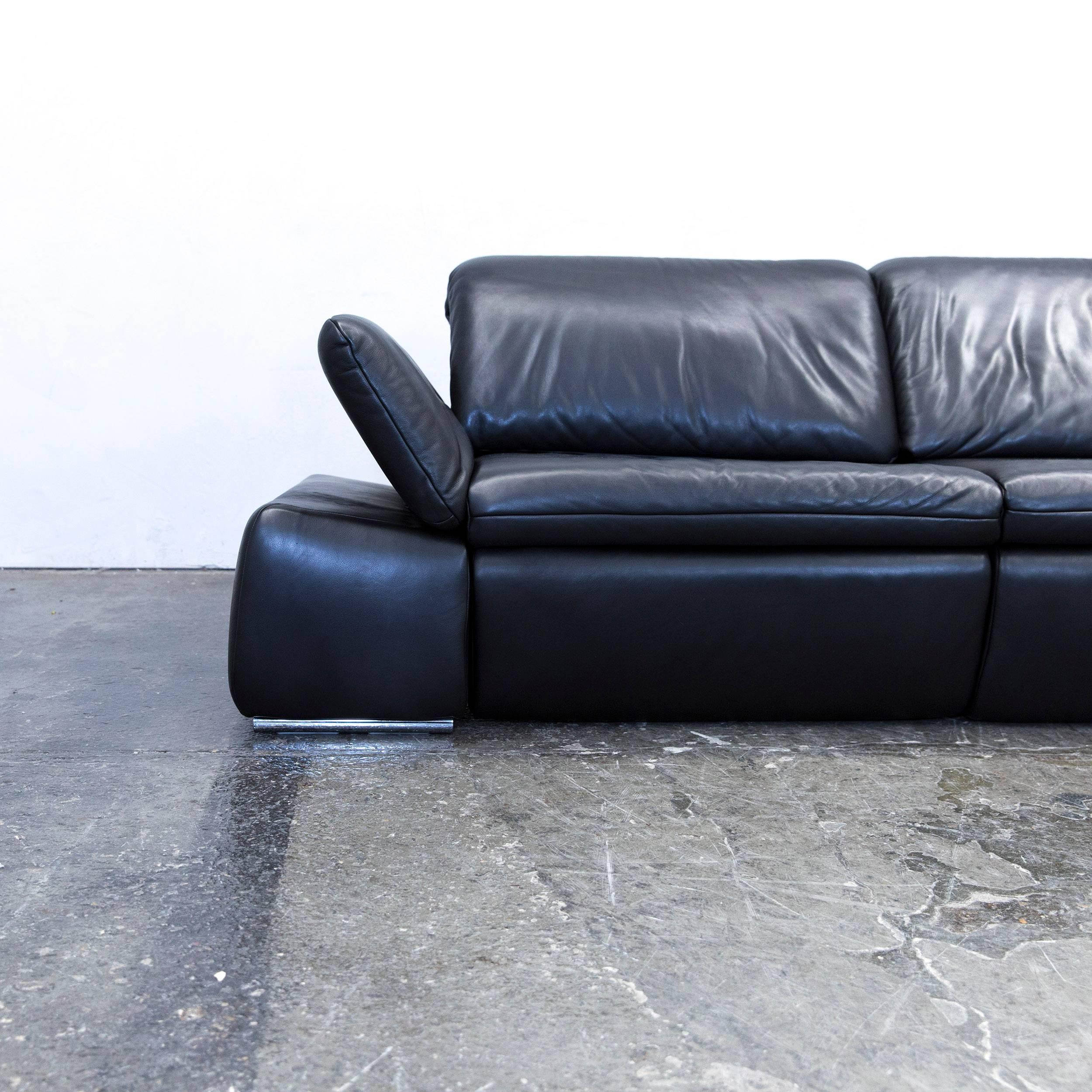 sofa leder schwarz excellent ikea vallentuna sofa schwarz with sofa leder schwarz elegant big. Black Bedroom Furniture Sets. Home Design Ideas
