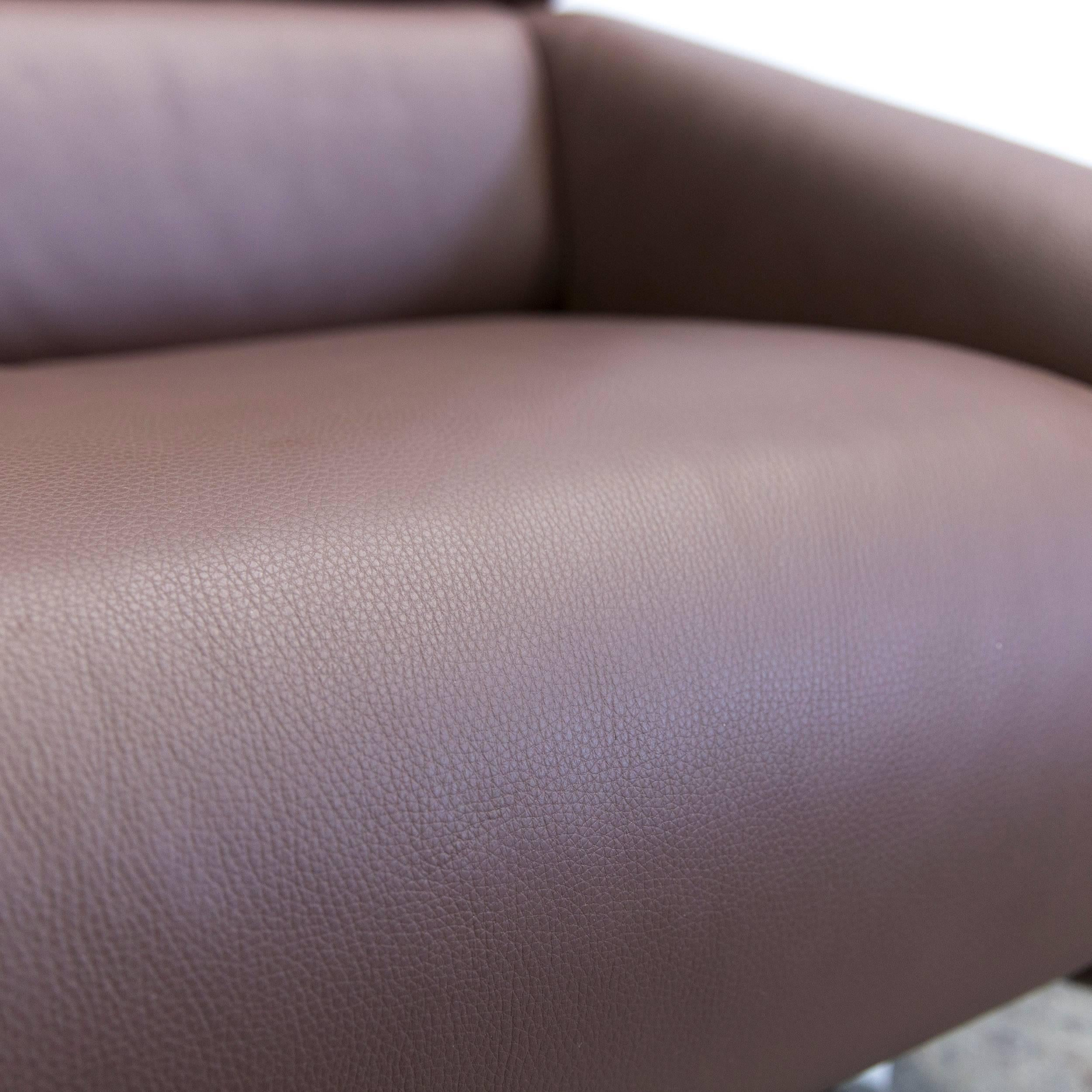 Fabulous Awesome Beautiful Fsm Ergo Designer Relax Armchair Leather Brown  One Seat Couch Modern For Sale At Stdibs With Couch Sessel Leder With Design  ...