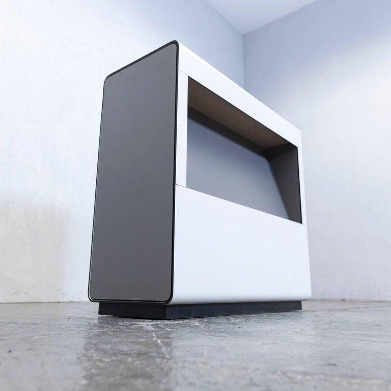 sideboard beige grey swiss air lounge newspaper function. Black Bedroom Furniture Sets. Home Design Ideas