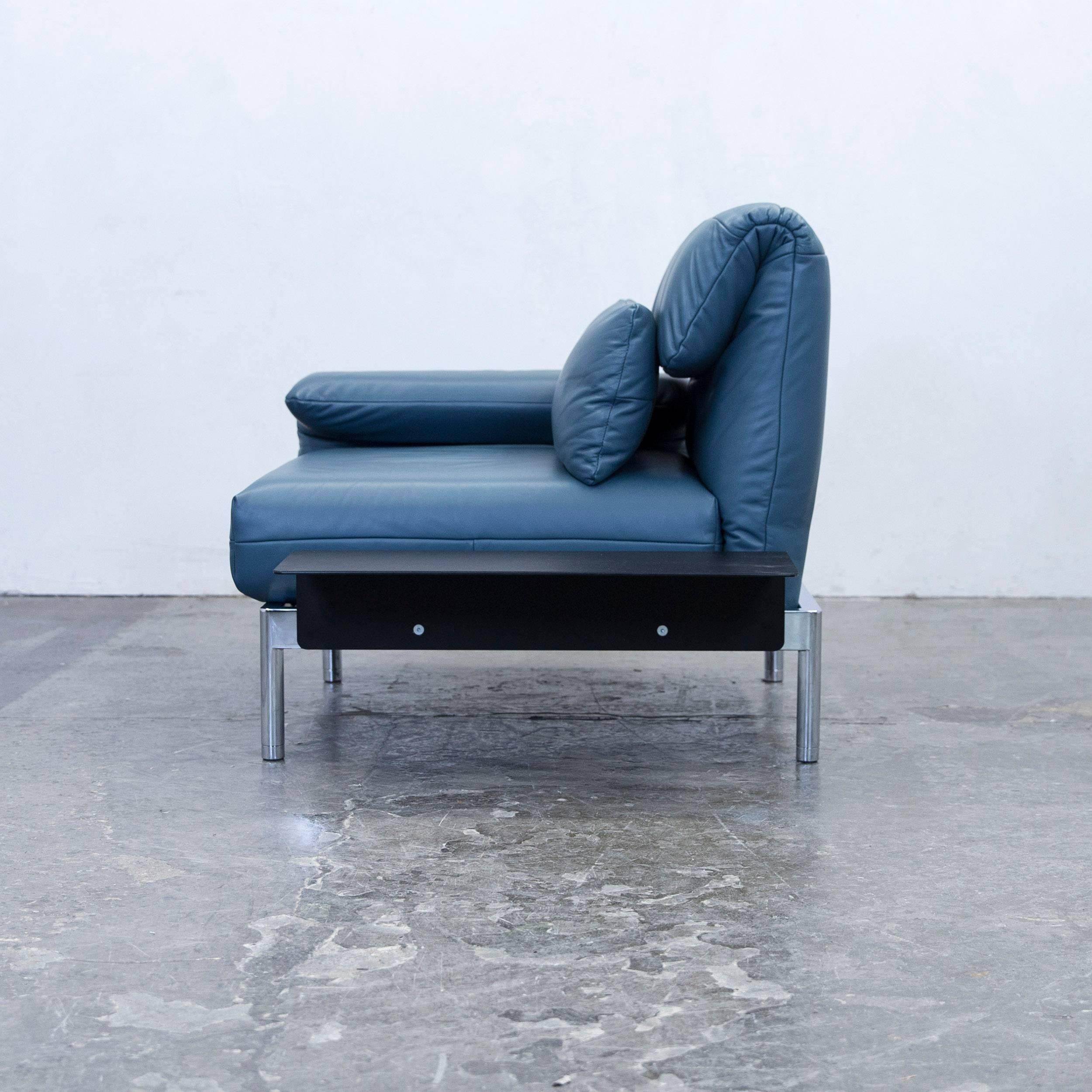 Wunderschön Sofa Und Sessel Foto Von Rolf Benz Plura Designer Chair Leather Blue