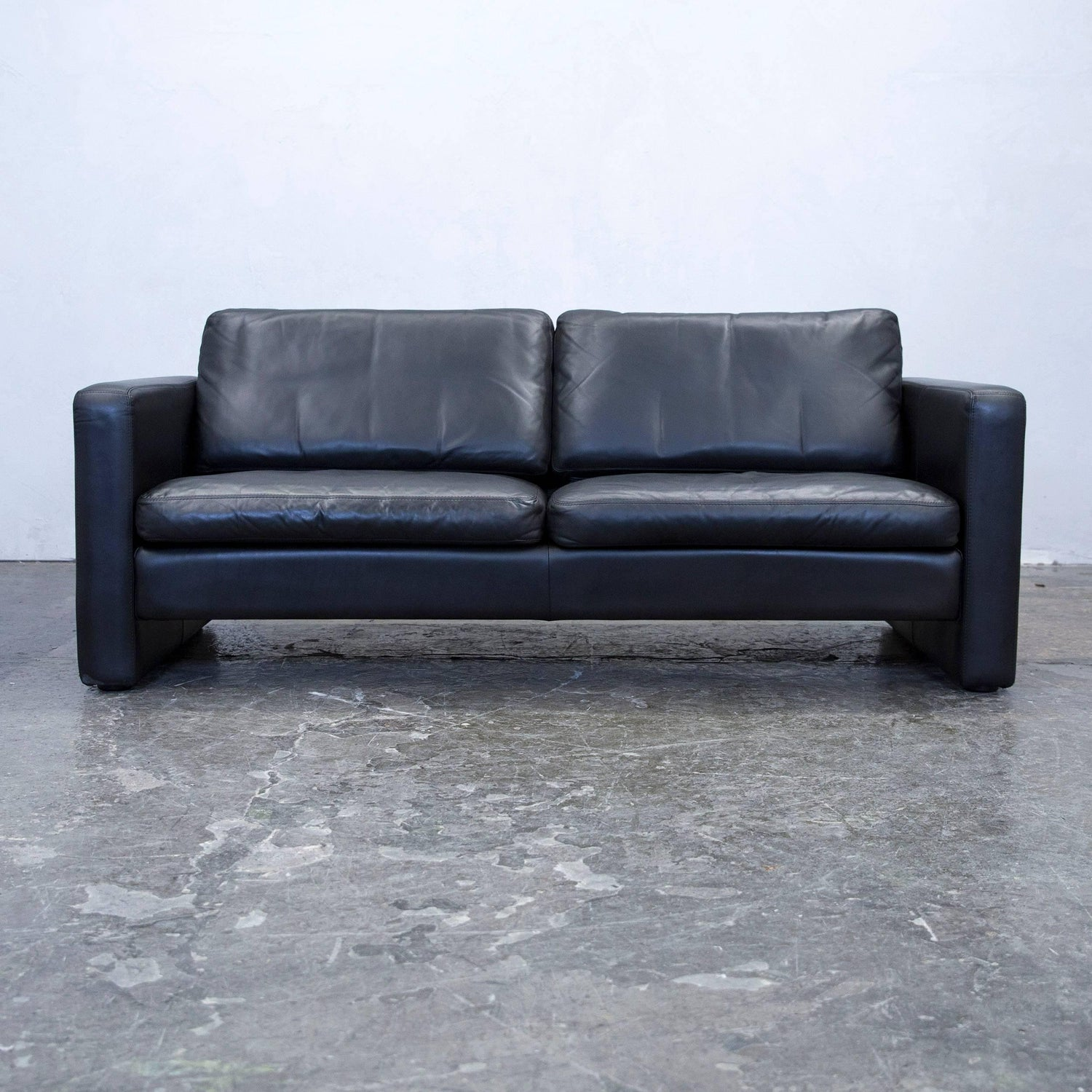 Cor sofa gebraucht kaufen okaycreations cor designer sofa leather black twoseater couch modern for at parisarafo Images