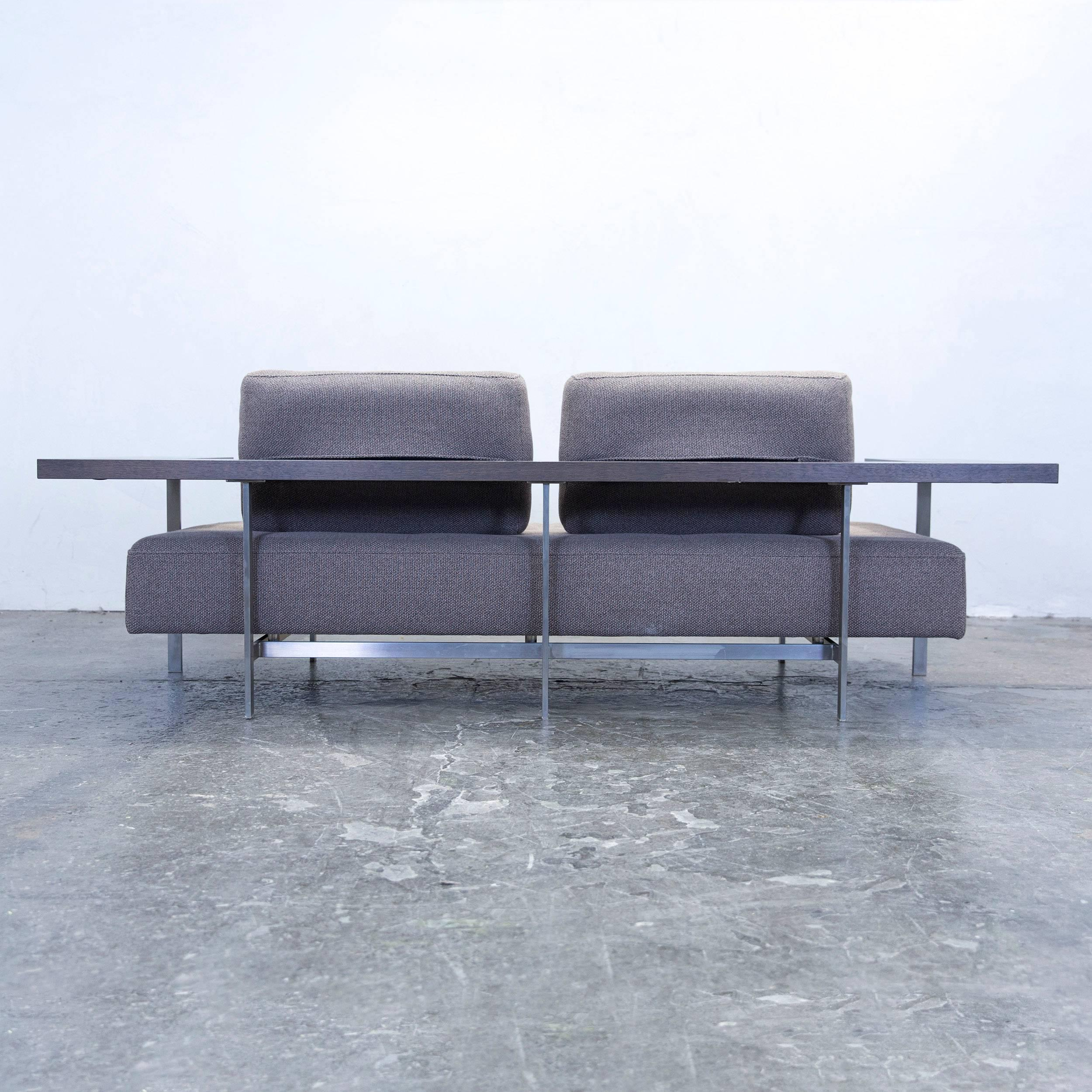 furniture rolf benz. Rolf Benz Dono 6100 Designer Sofa Grey Fabric Two-Seat Couch Modern At 1stdibs Furniture