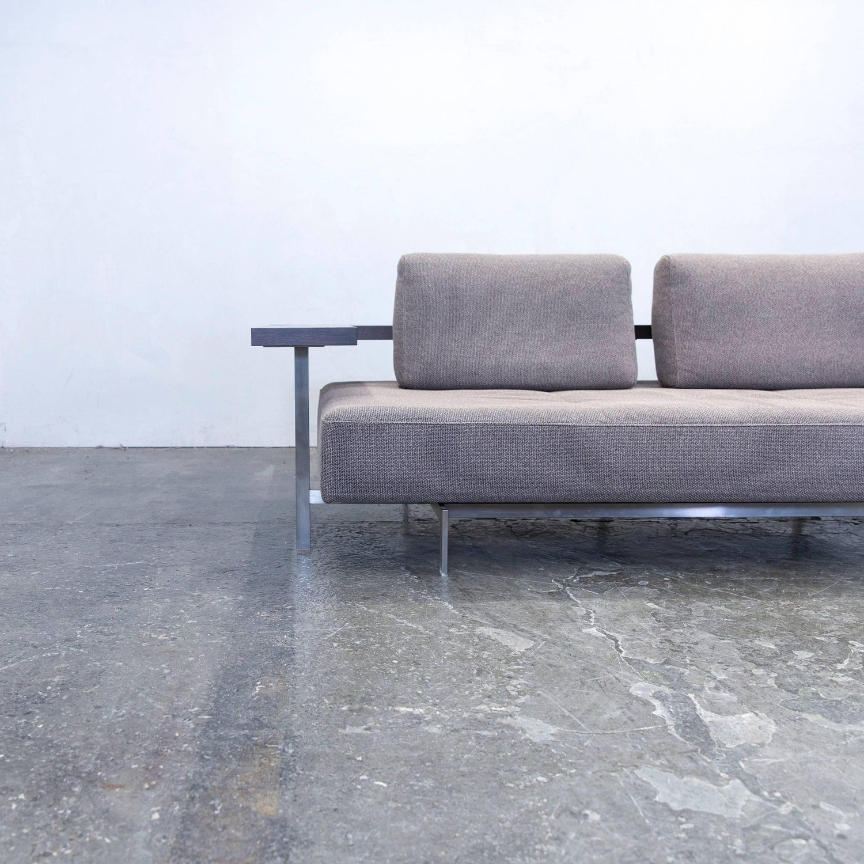 Rolf Dono rolf dono 6100 designer sofa grey fabric two seat modern