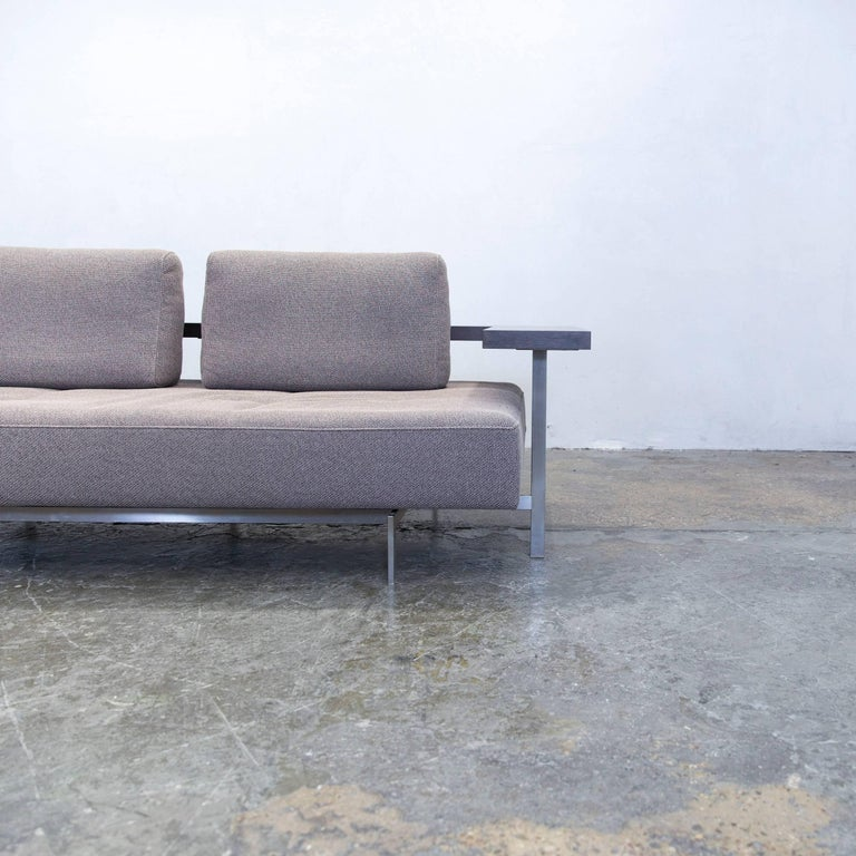 Sofa modern grau  Rolf Benz Dono 6100 Designer Sofa Grey Fabric Two-Seat Couch ...