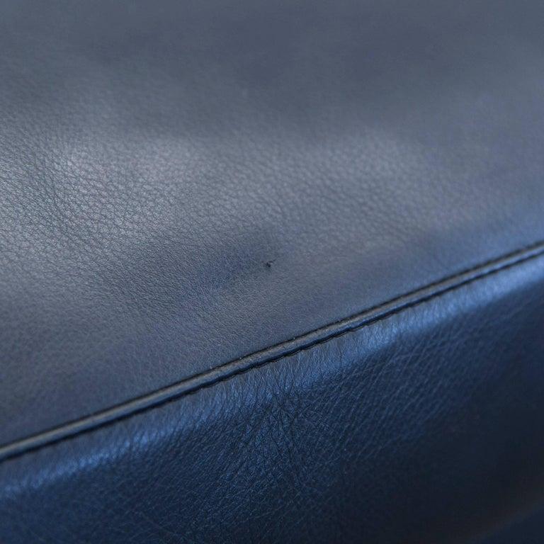 B Amp B Italia Harry Designer Corner Sofa Leather Black Couch