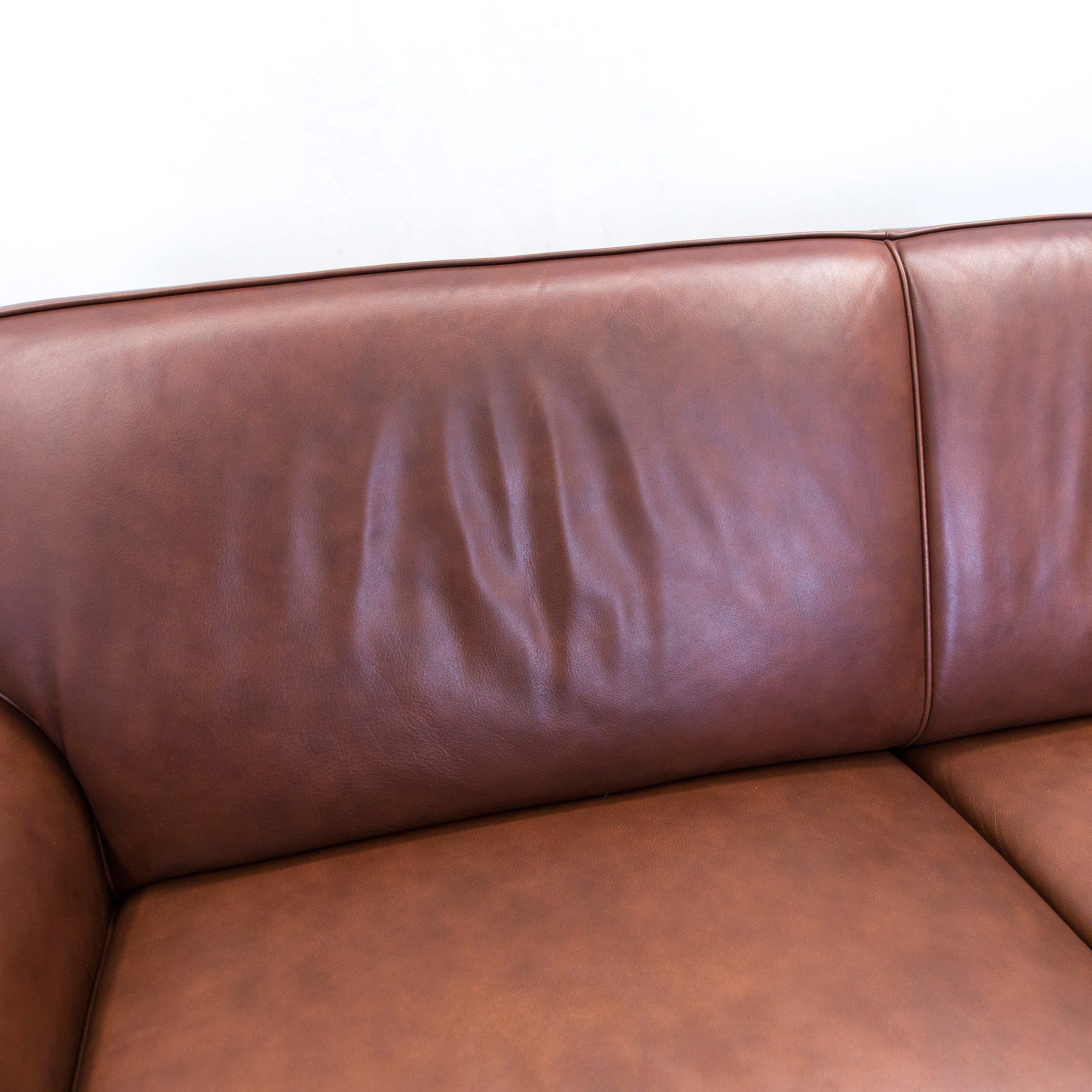Beeindruckend Couch Leder Braun Referenz Von Gepade Akad´or Designer Sofa Leather Brown Two-seat