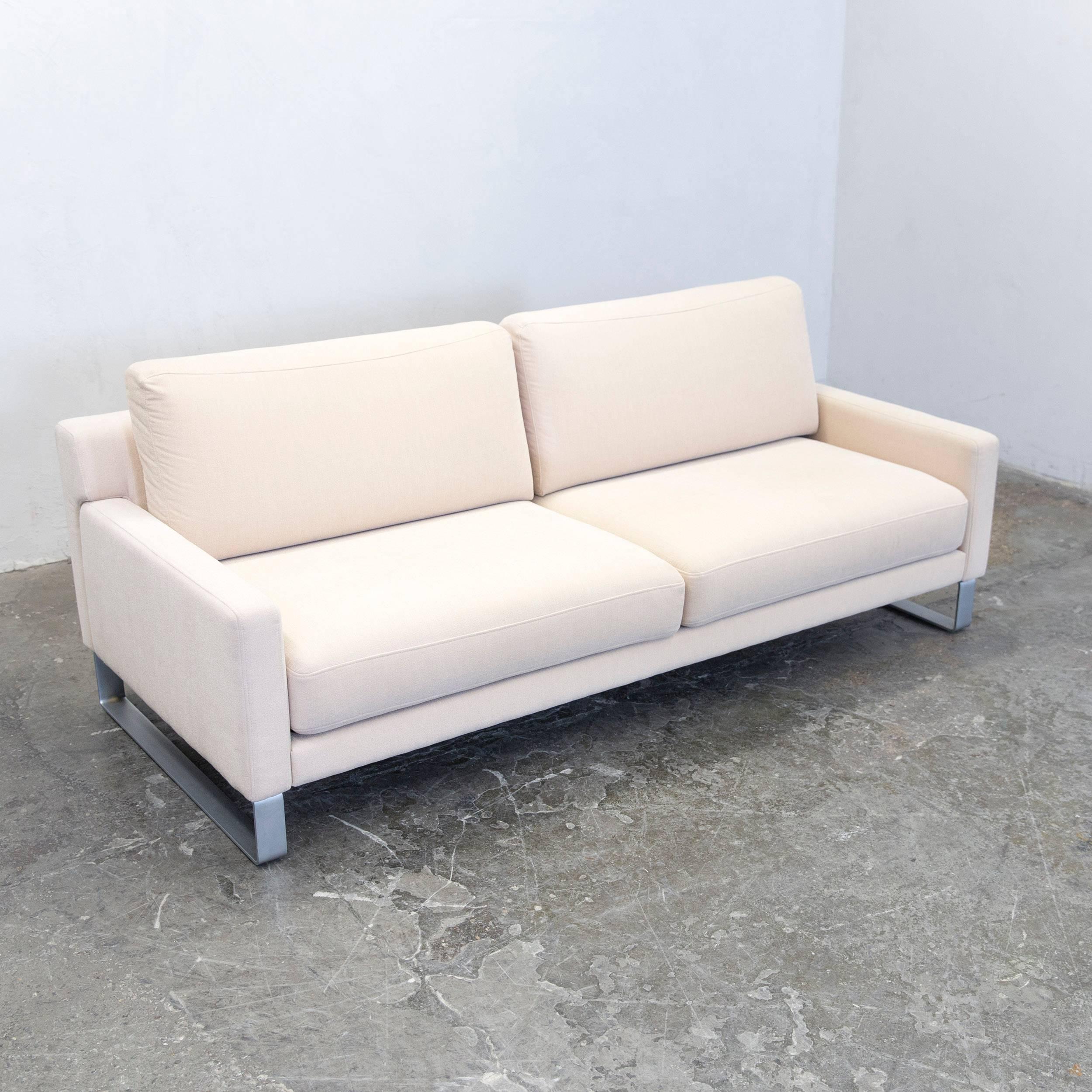 Bemerkenswert Benz Couch Foto Von Rolf Ego Designer Sofa Fabric Beige Three-seat