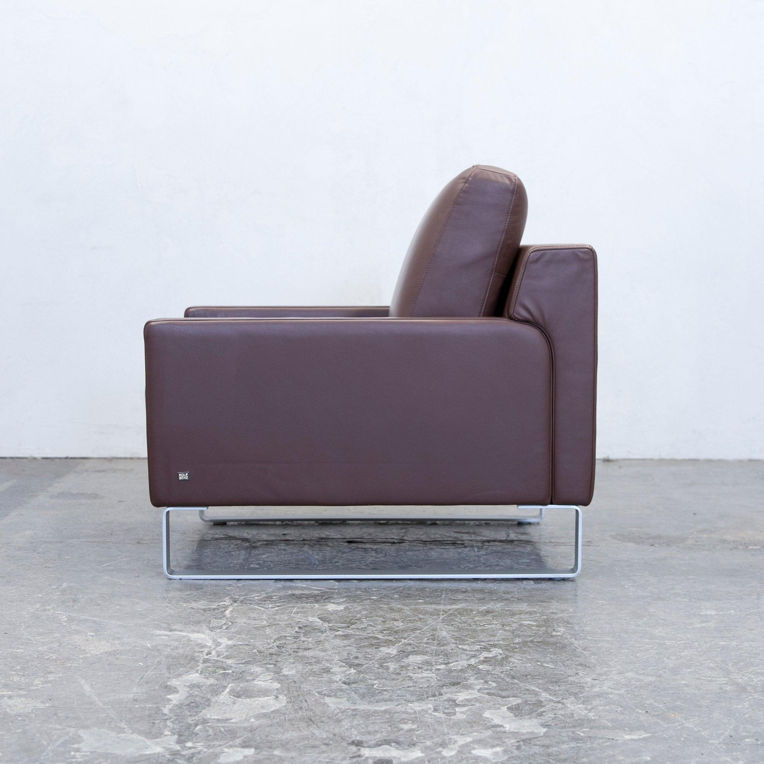 Einzigartig Couch Braun Leder Foto Von Cool Rolf Benz Ego Designer Armchair Leather