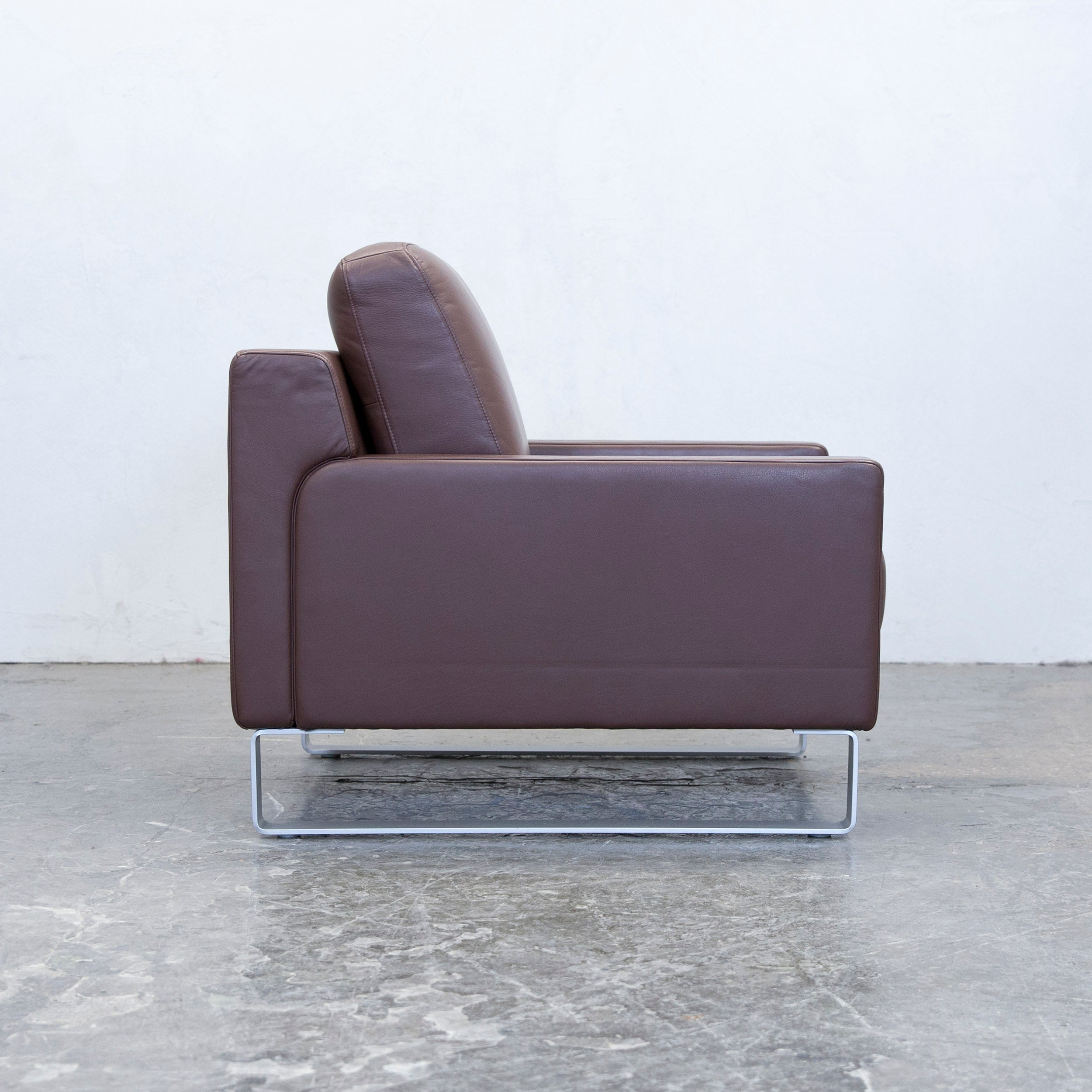 rolf benz 684. Rolf Benz 684. Ego Designer Armchair Leather Brown One Seat Couch Modern At 684