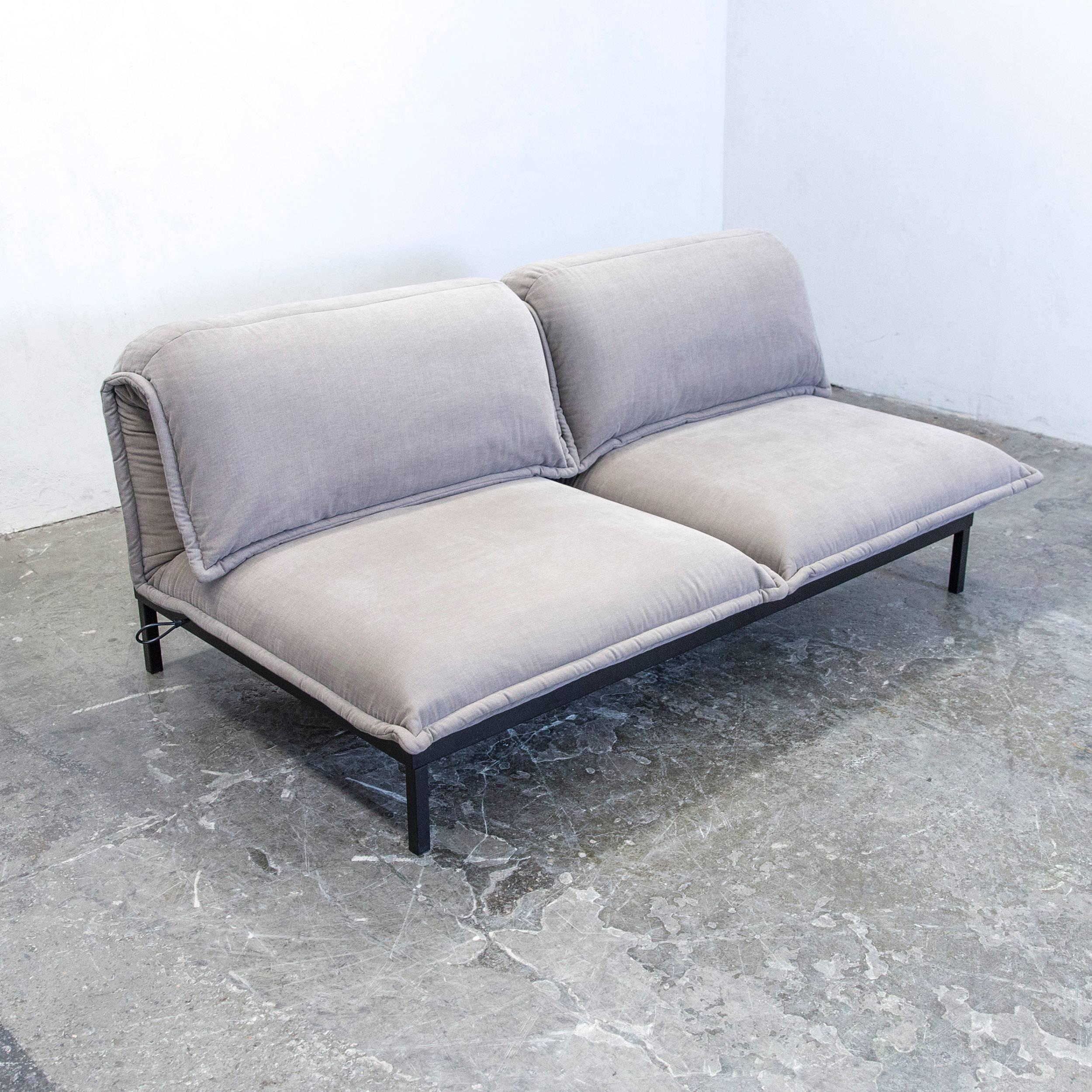 Finest Grey Colored Original Rolf Benz Nova Designer Sofa In A And Modern  Design With Sthle Modern Grau