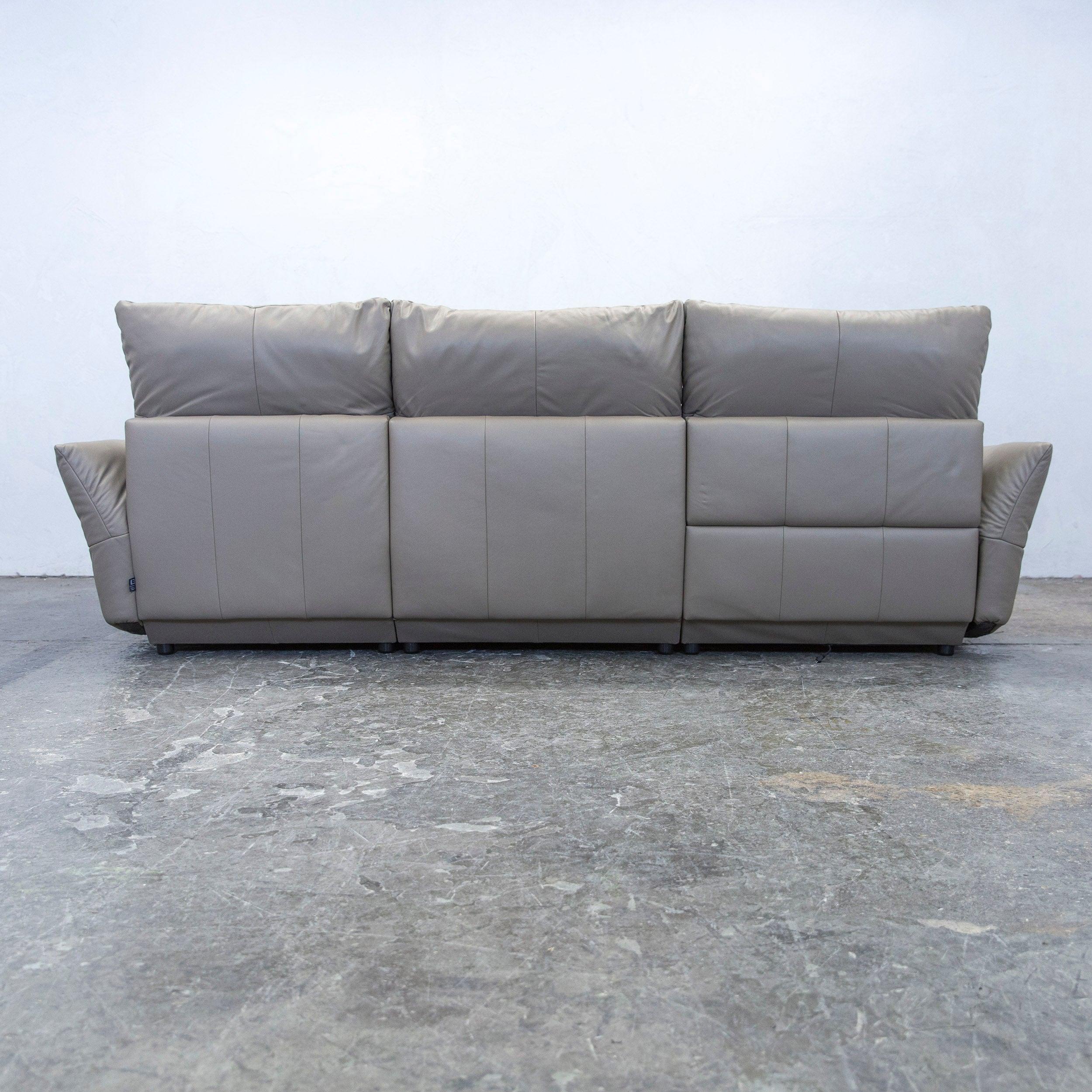 Beeindruckend Sofa Und Sessel Foto Von Ewald Schillig Designer Corner Leather Brown Crème