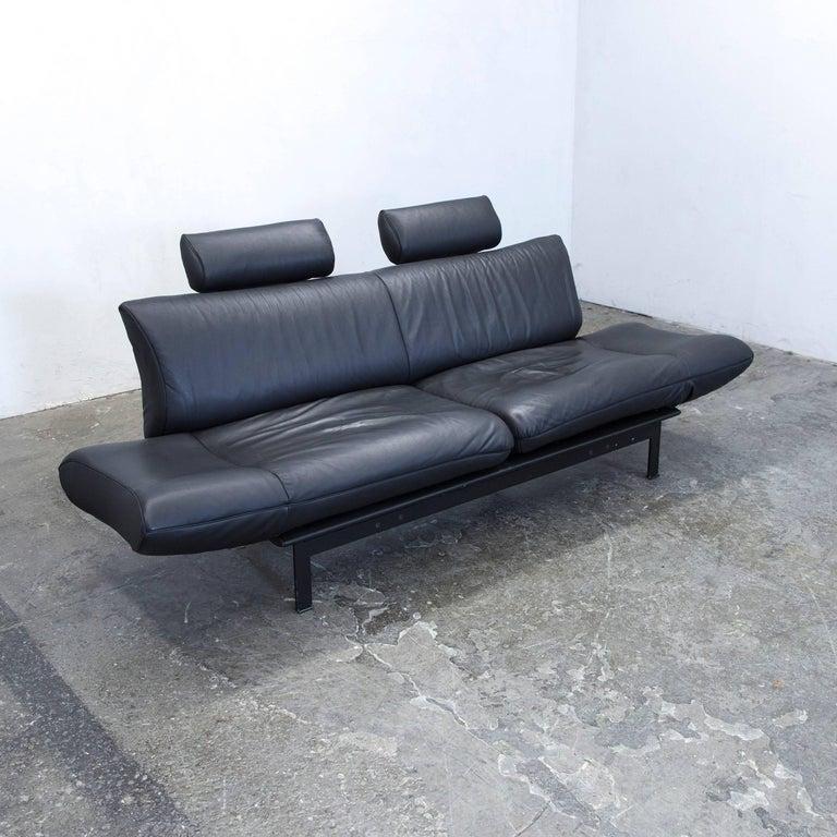 Zweisitzer Sofa Leder. Great Zweisitzer In Weiem Leder Mit Einem ...