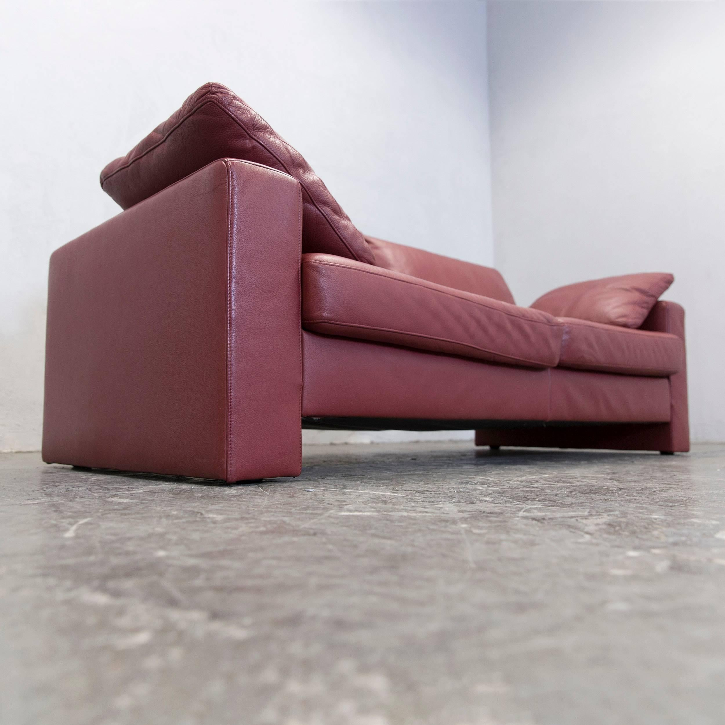 designer ledercouch beautiful designer couch modena l. Black Bedroom Furniture Sets. Home Design Ideas