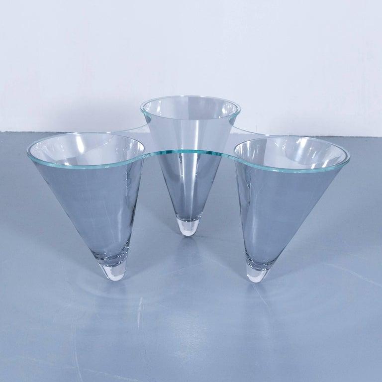 Draenert Twist 1640 Designer Coffee Table Glass