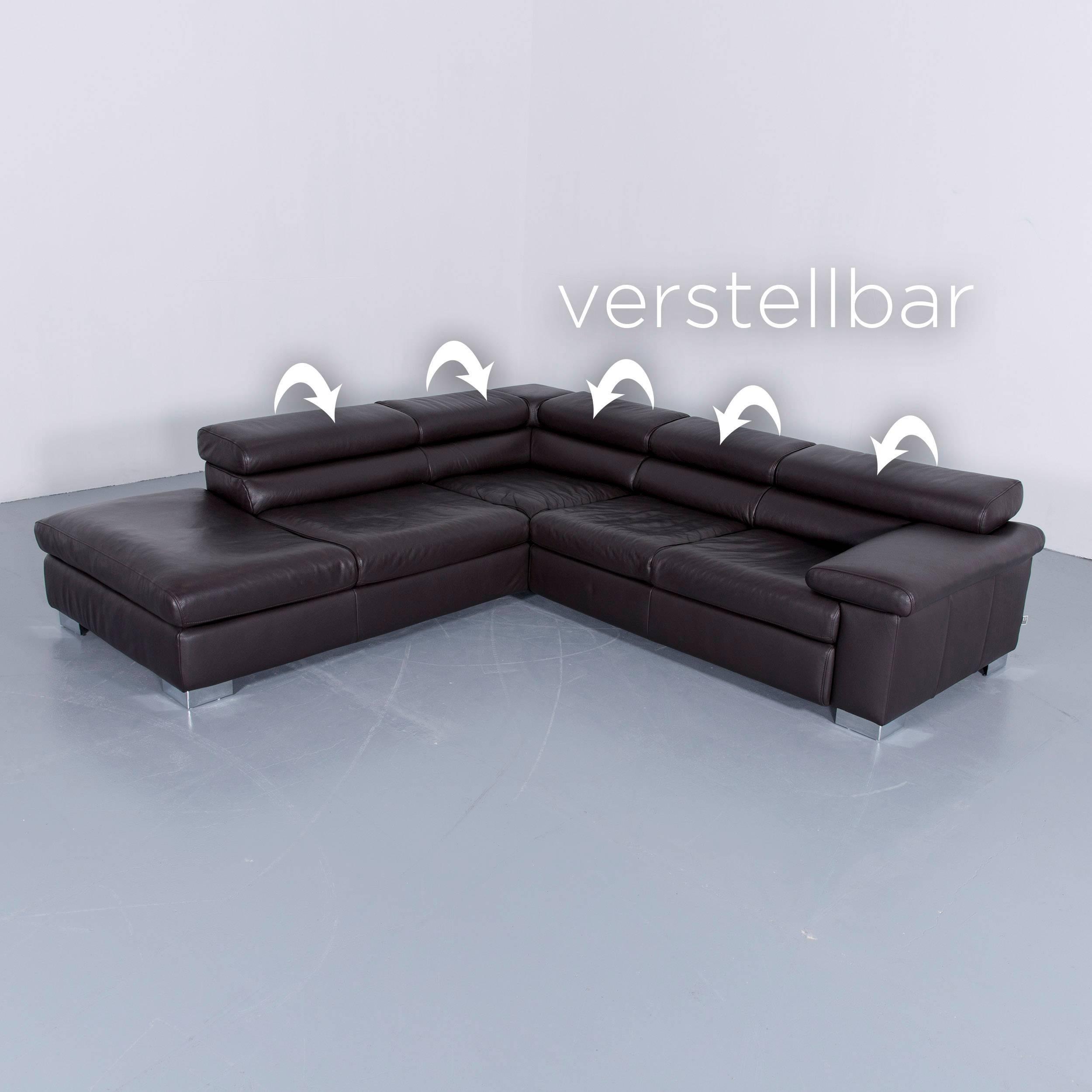 Liebenswert Leder Ecksofa Braun Referenz Von Couch - Maak Het U Gemakkelijk Om