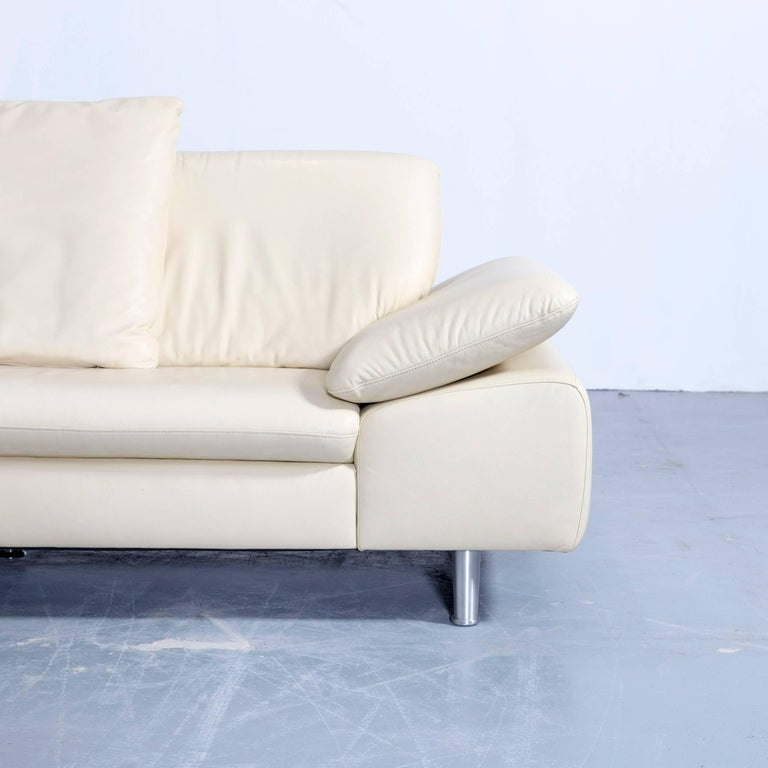 willi schillig loop designer corner sofa set leather cr me function couch modern at 1stdibs. Black Bedroom Furniture Sets. Home Design Ideas
