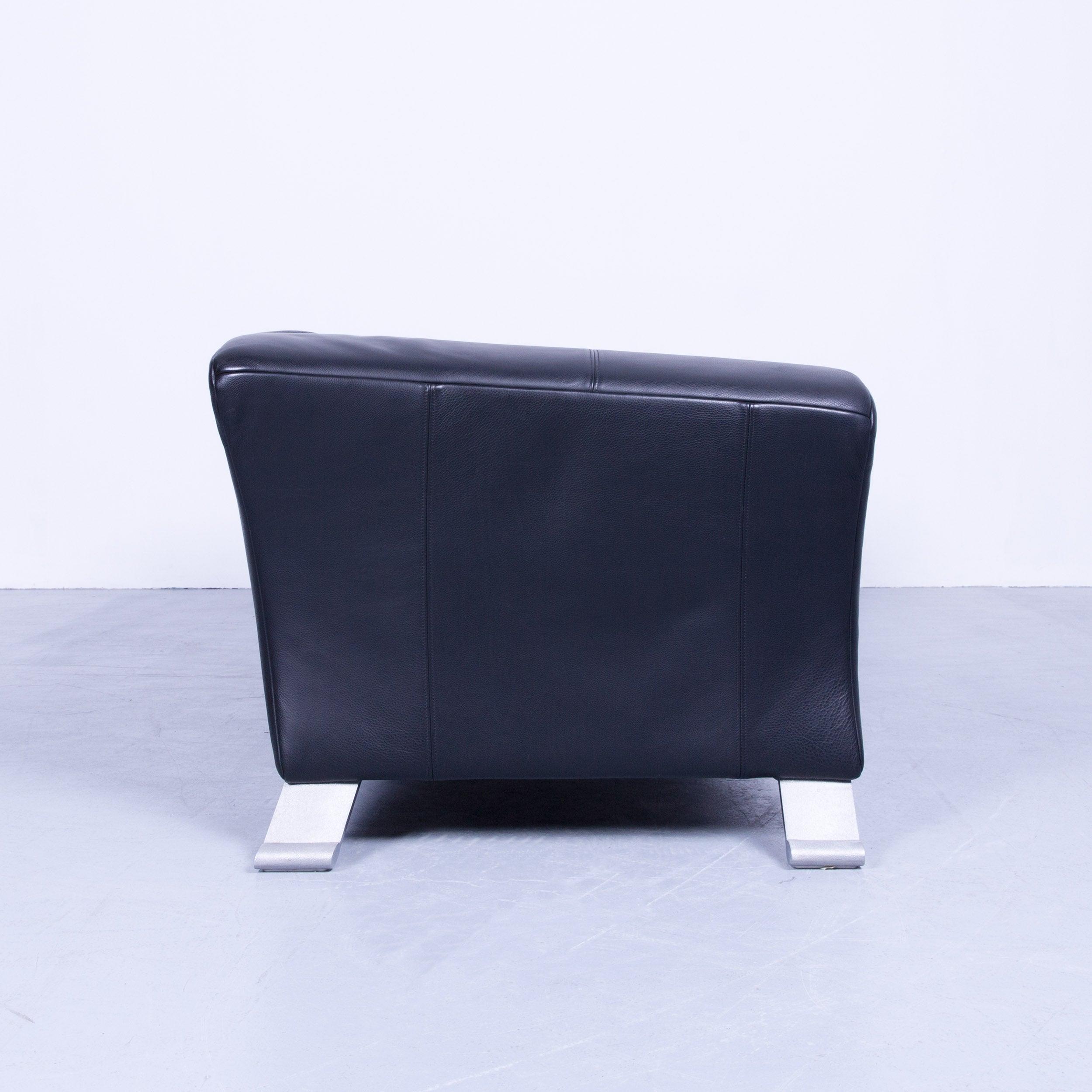 Rolf Benz Sofa Leder. Rolf Benz Designer Leather Sofa Black Three ...