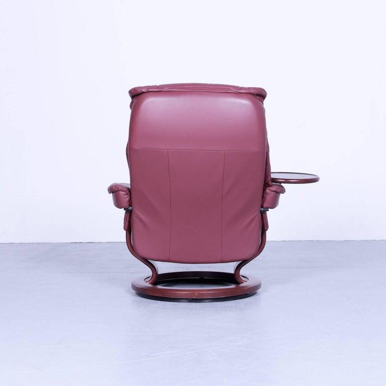 ekornes stressless mayfair armchair red leather modern. Black Bedroom Furniture Sets. Home Design Ideas