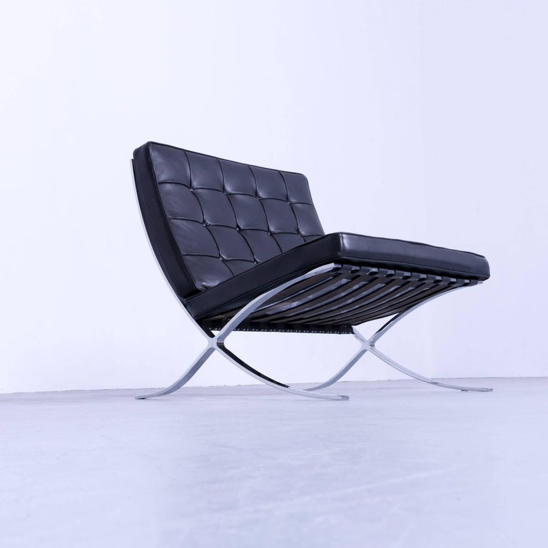 two knoll international barcelona chair ludwig mies van. Black Bedroom Furniture Sets. Home Design Ideas