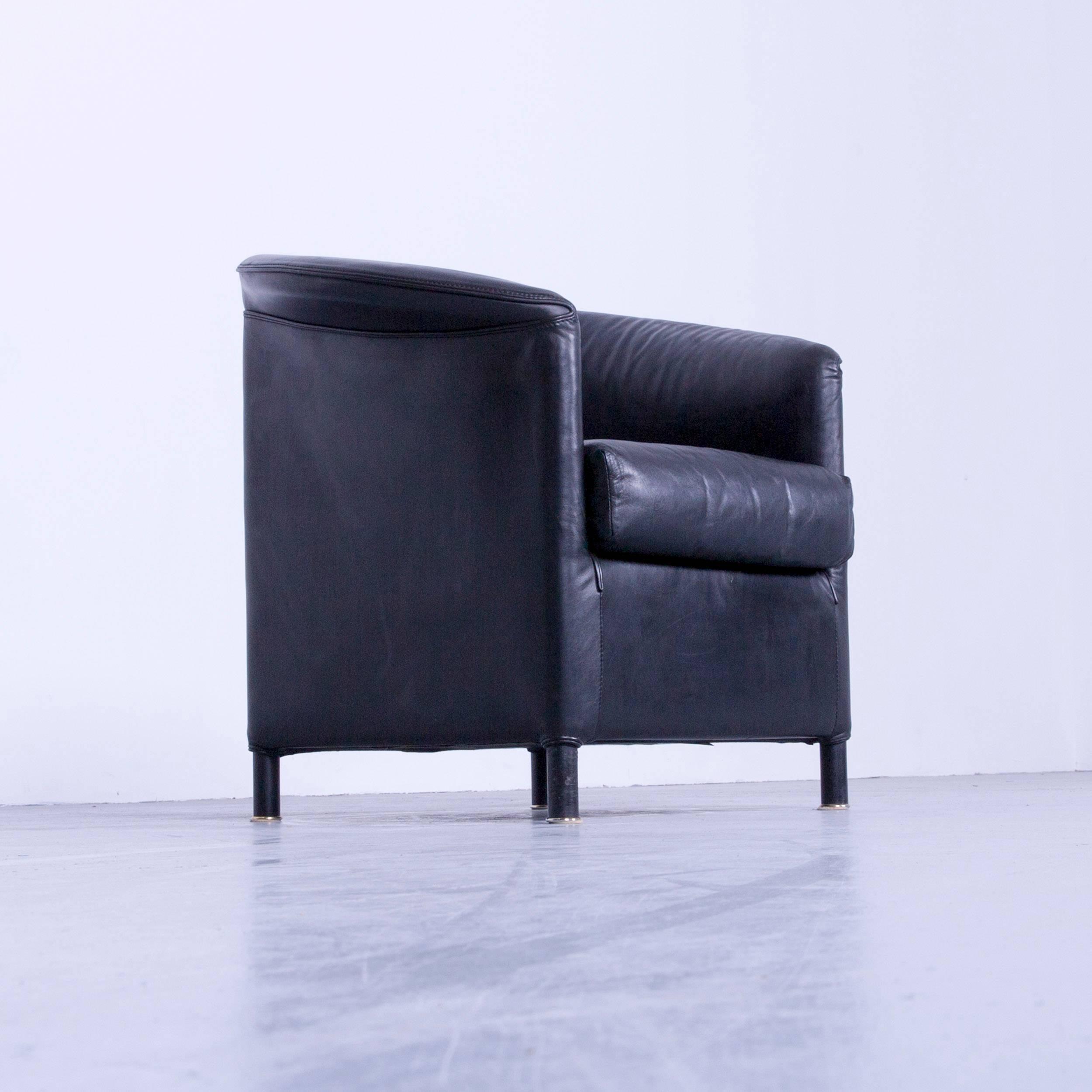 Bemerkenswert Echtleder Sofa Schwarz Foto Von Wittmann