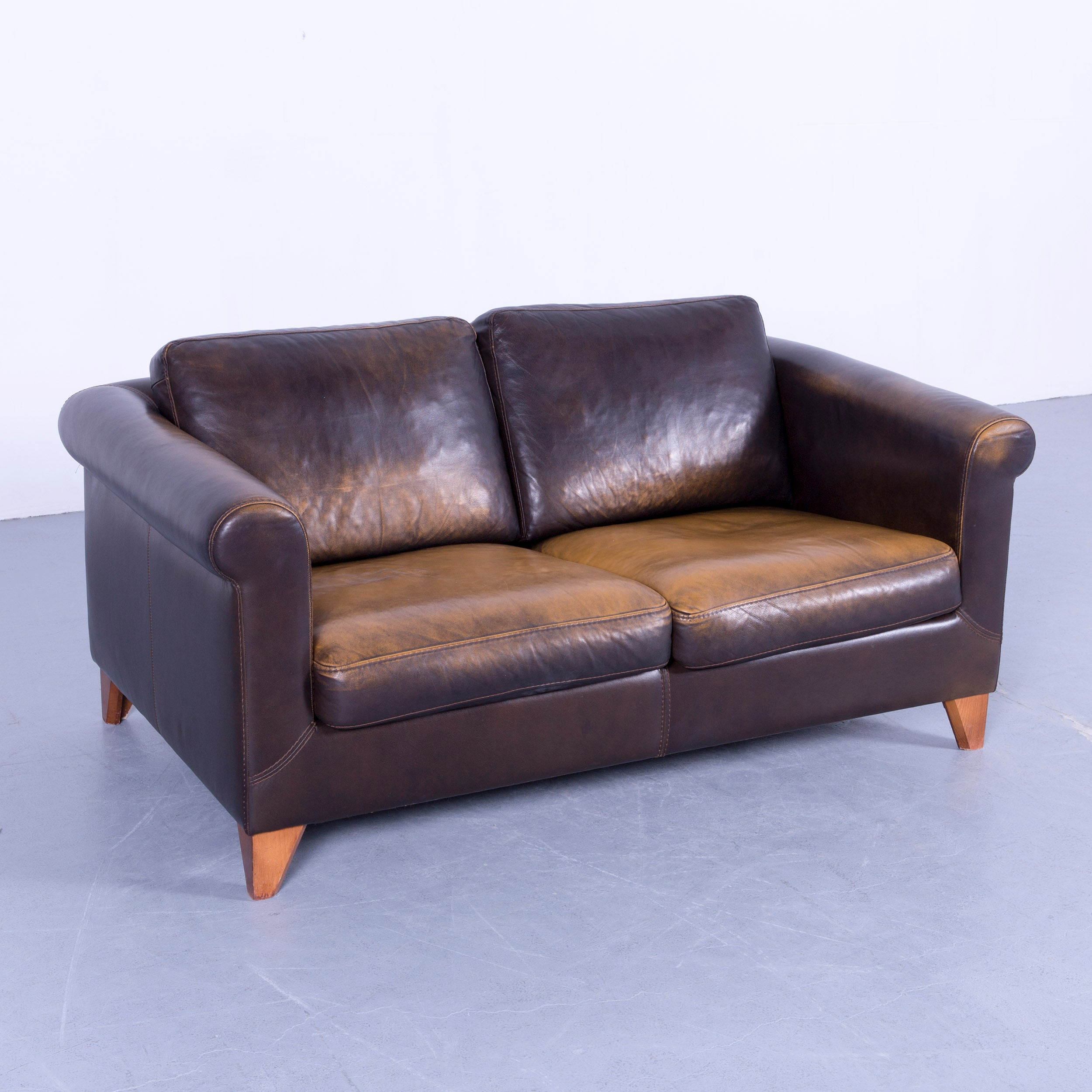 Faszinierend Couch Braun Leder Dekoration Von
