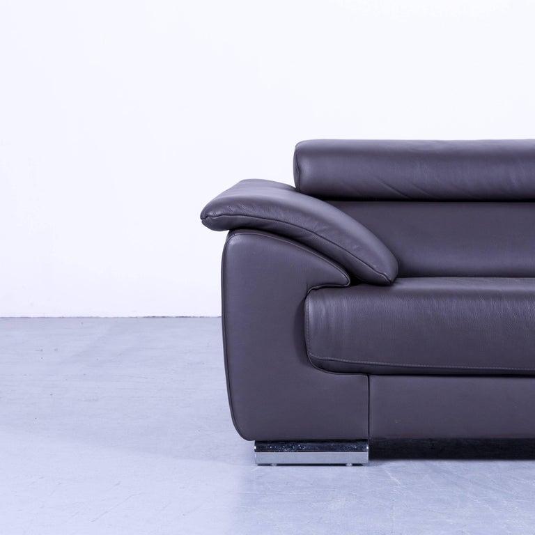 Ewald Schillig Brand Blues Designer Sofa Anthracite Grey