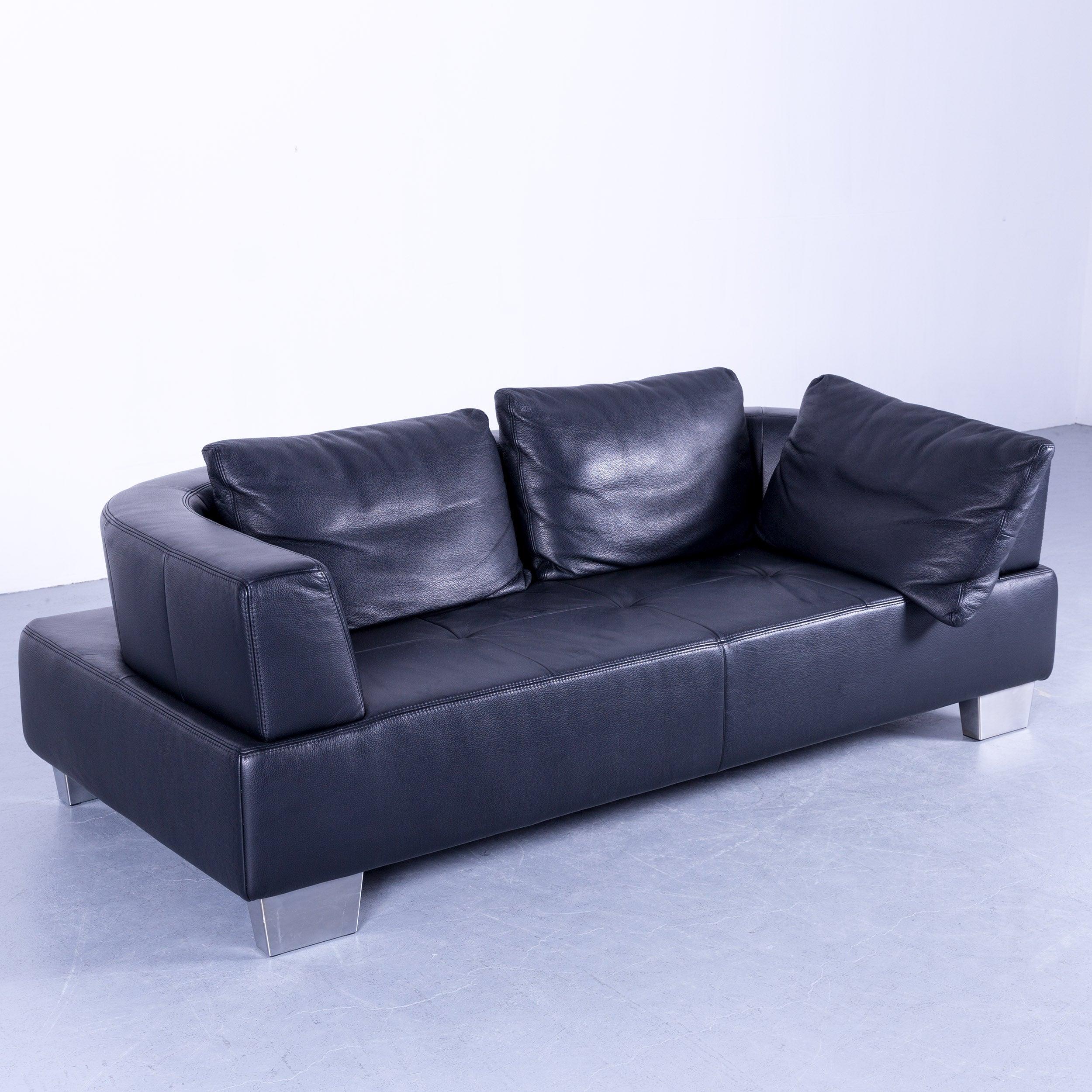schillig sofa schwarz. Black Bedroom Furniture Sets. Home Design Ideas